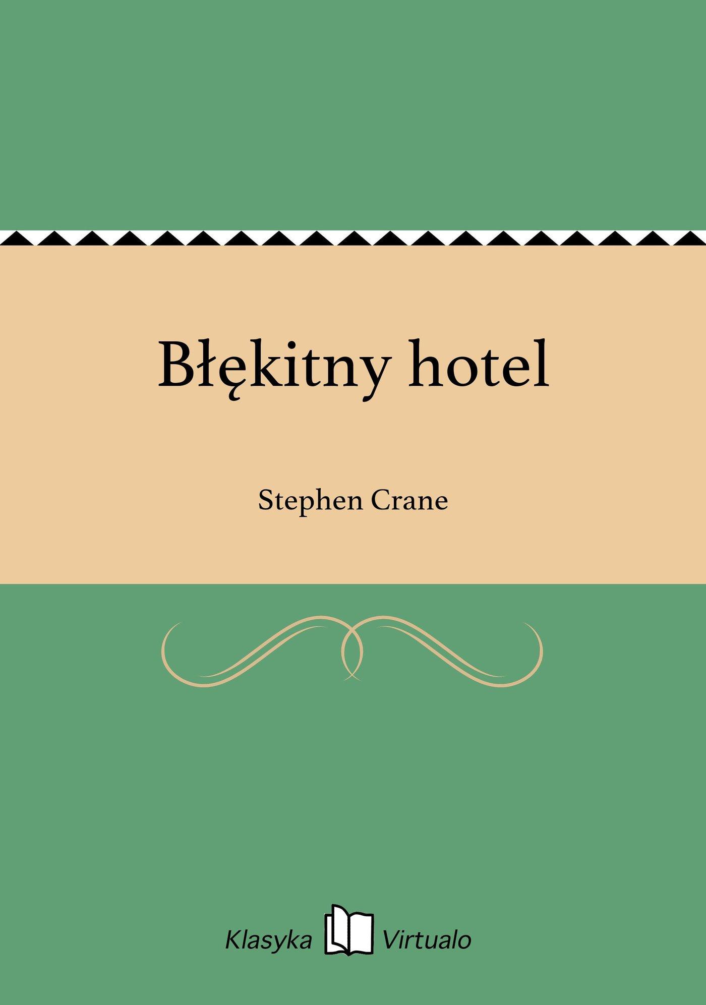 Błękitny hotel - Ebook (Książka na Kindle) do pobrania w formacie MOBI