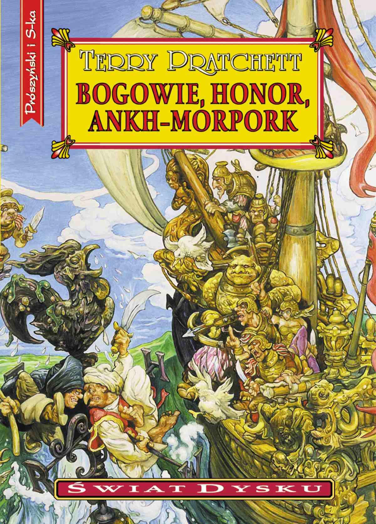 Bogowie, honor, Ankh-Morpork - Ebook (Książka EPUB) do pobrania w formacie EPUB