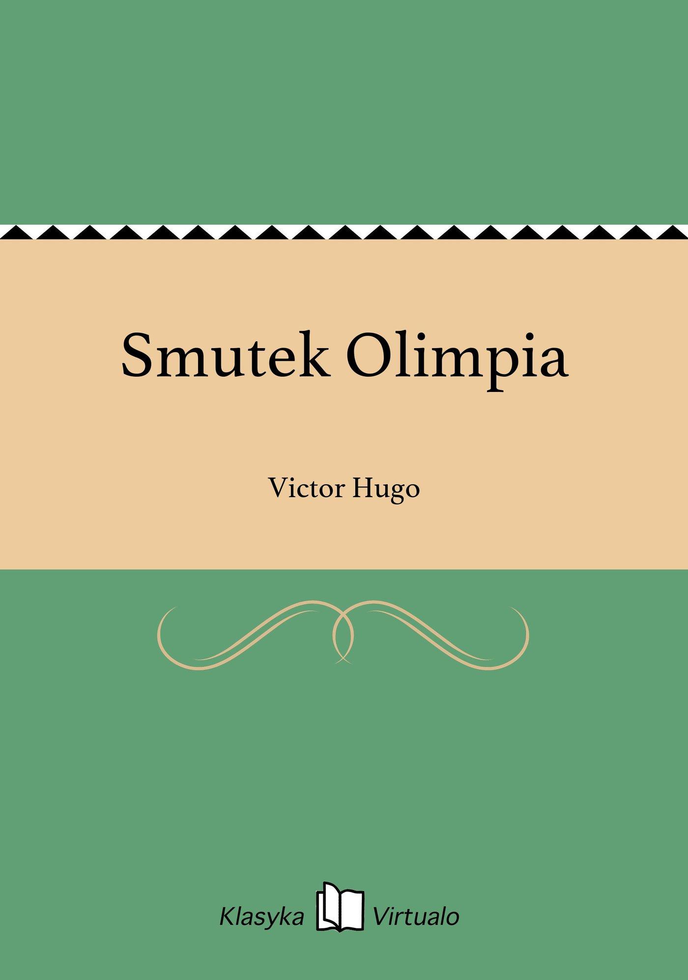 Smutek Olimpia - Ebook (Książka na Kindle) do pobrania w formacie MOBI