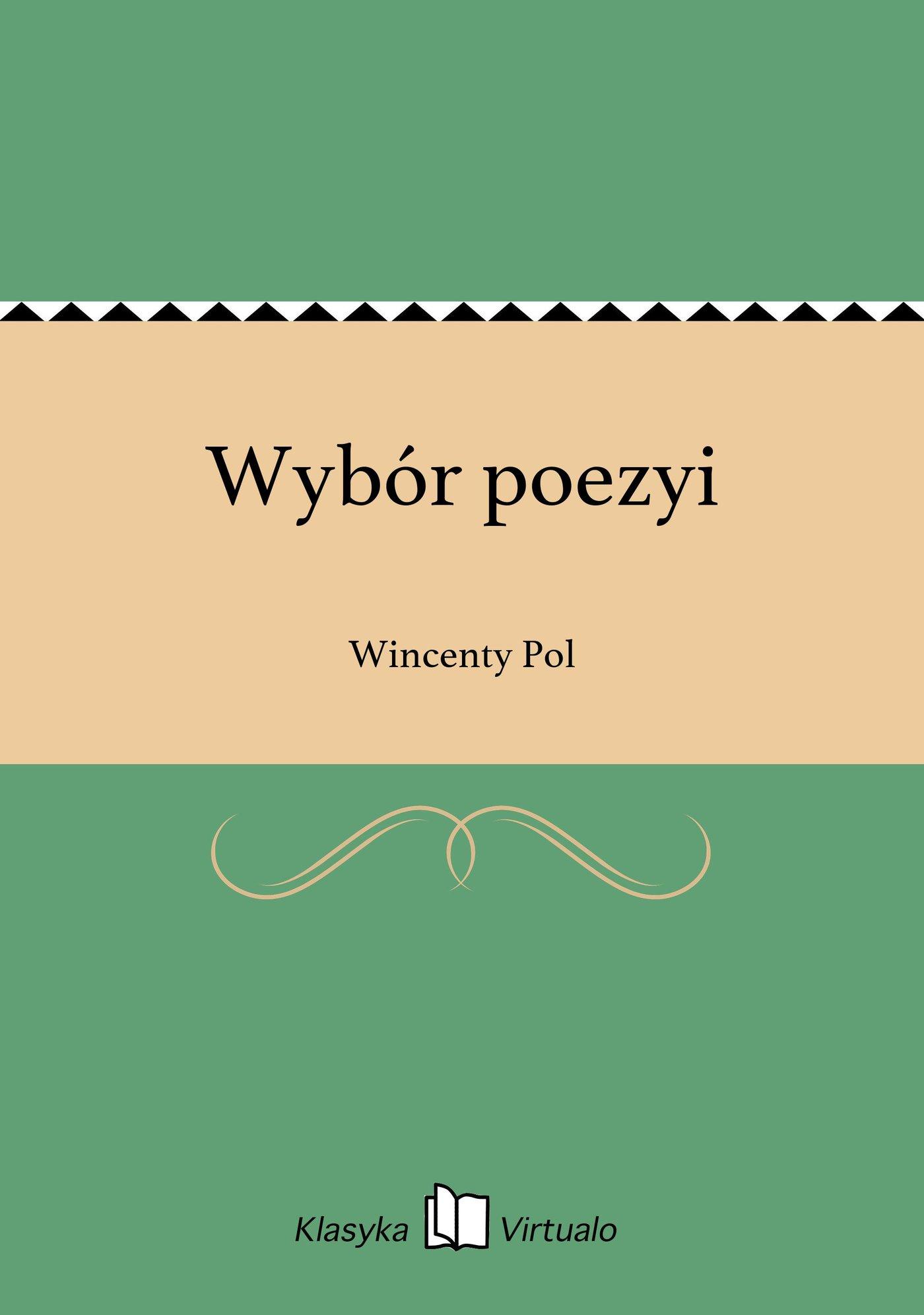 Wybór poezyi - Ebook (Książka na Kindle) do pobrania w formacie MOBI