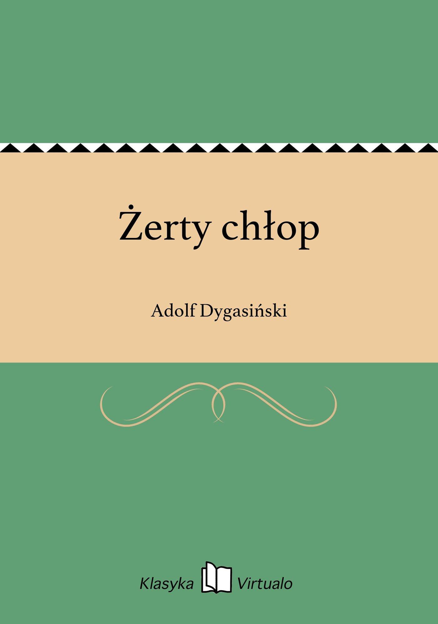 Żerty chłop - Ebook (Książka na Kindle) do pobrania w formacie MOBI