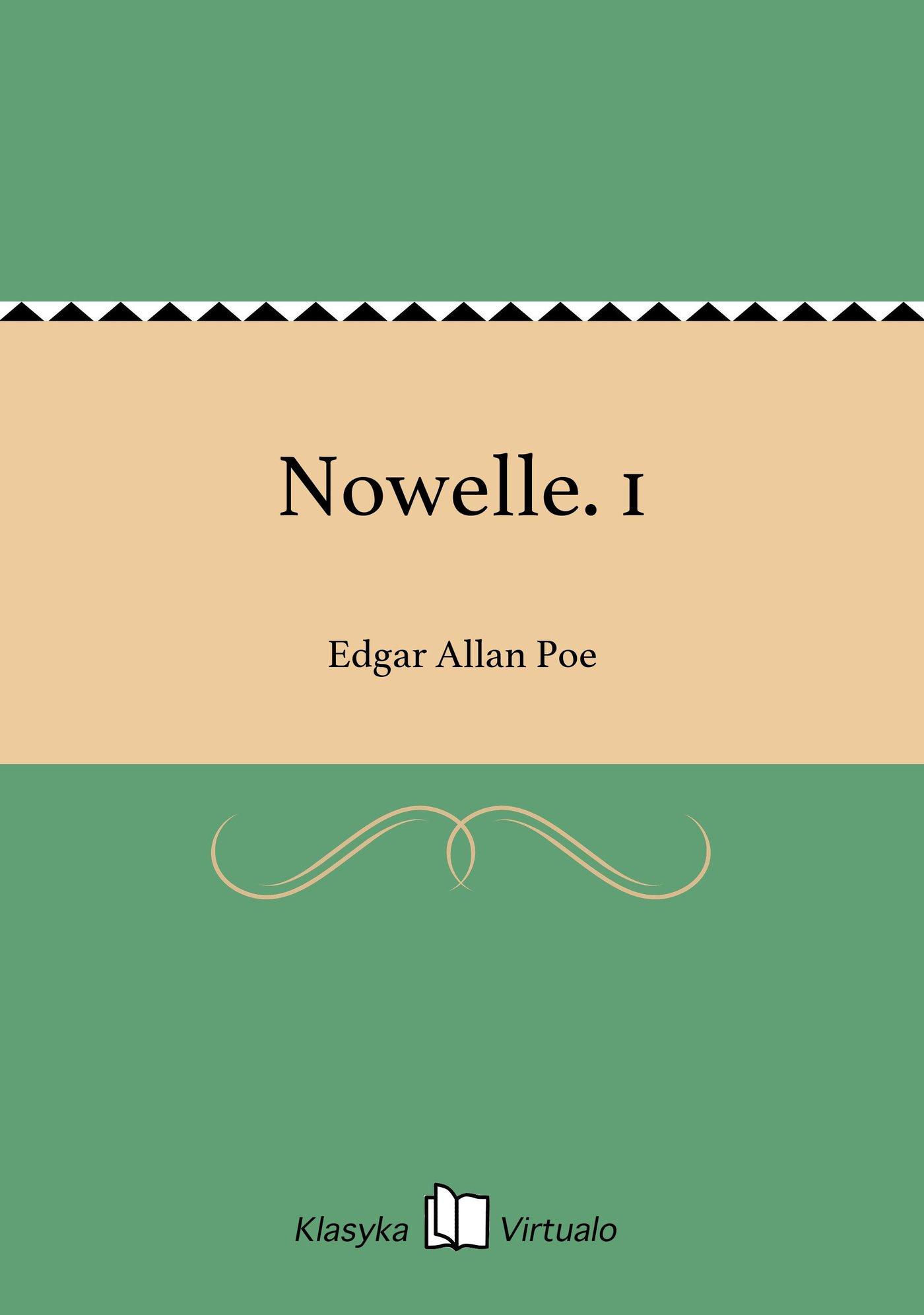 Nowelle. 1 - Ebook (Książka na Kindle) do pobrania w formacie MOBI