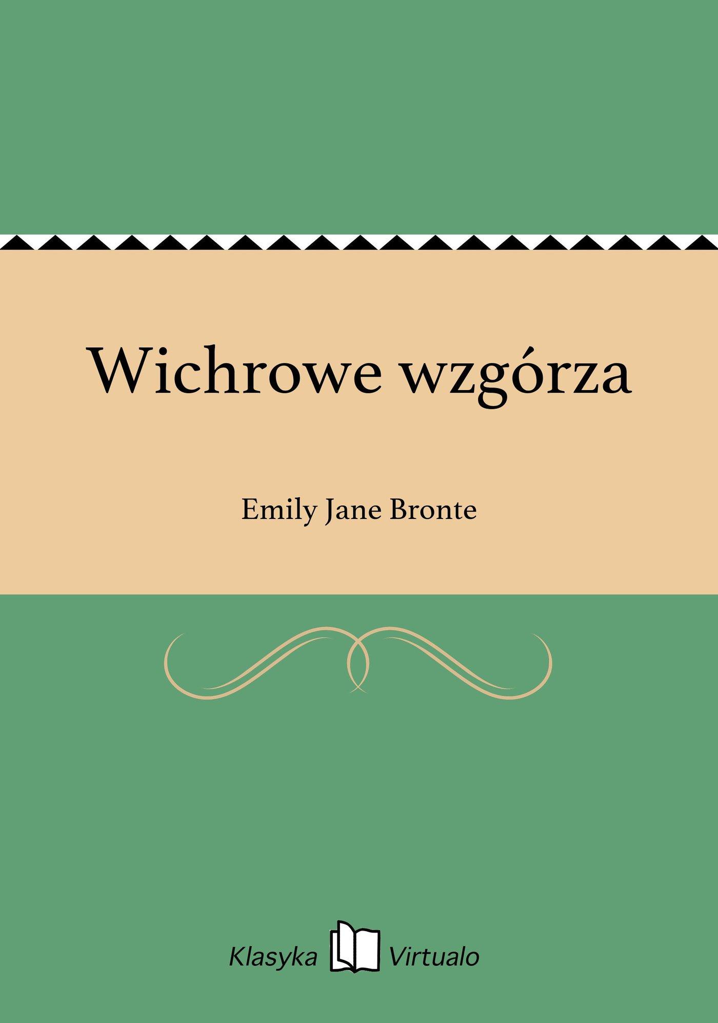 Wichrowe wzgórza - Ebook (Książka na Kindle) do pobrania w formacie MOBI