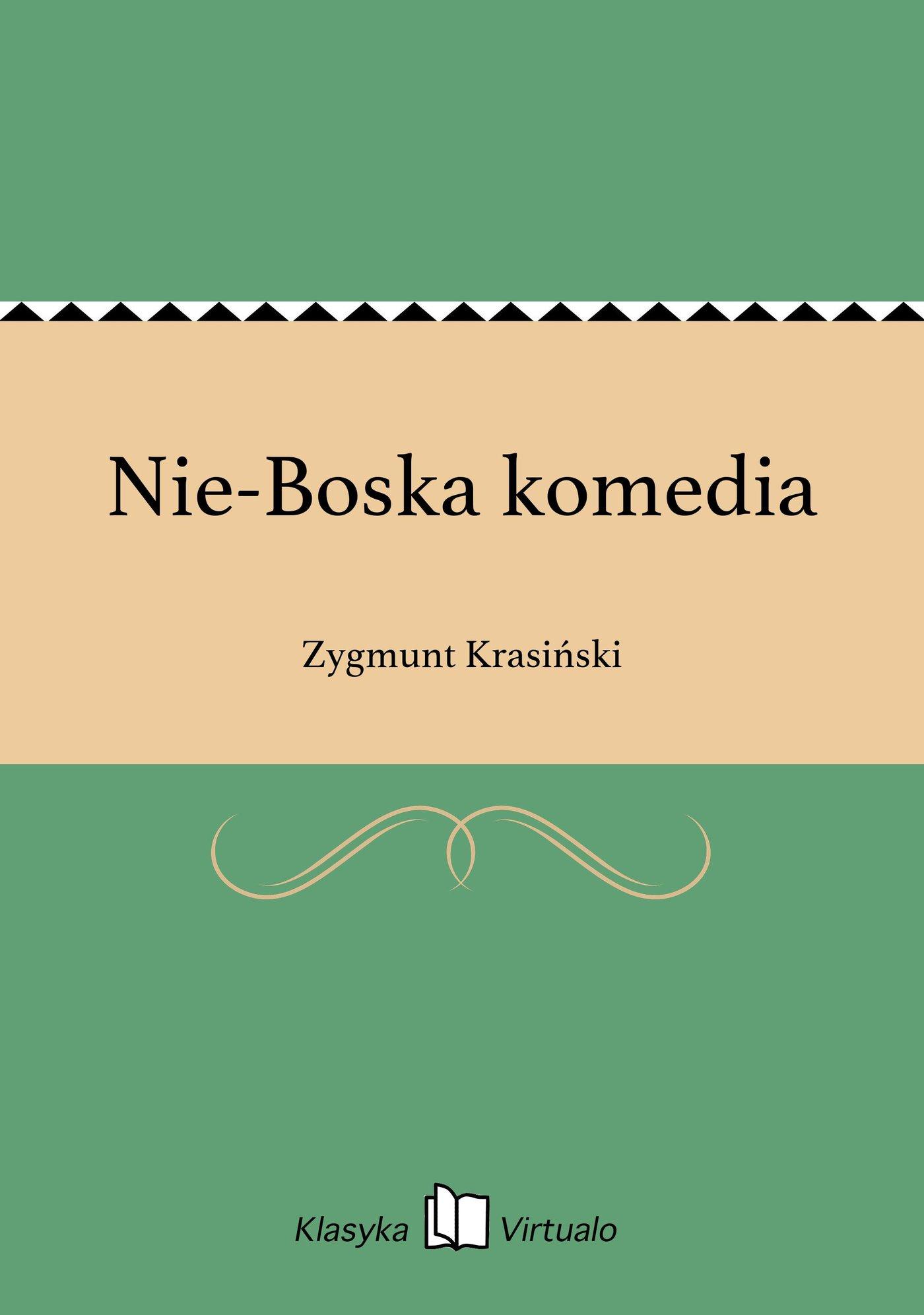 Nie-Boska komedia - Ebook (Książka na Kindle) do pobrania w formacie MOBI