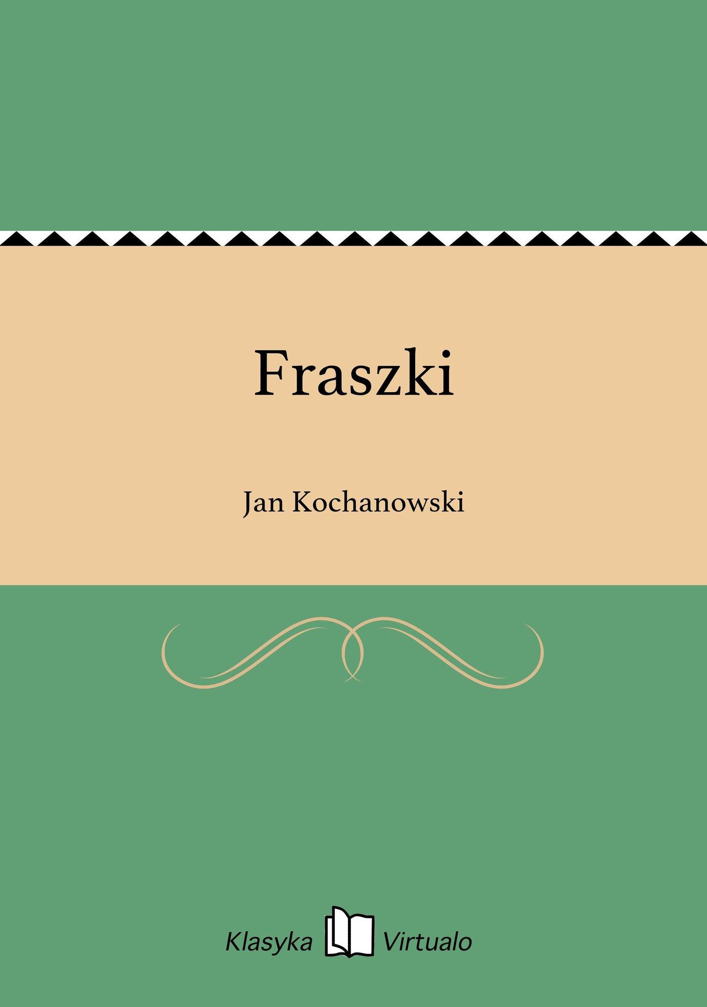 Fraszki - Ebook (Książka na Kindle) do pobrania w formacie MOBI