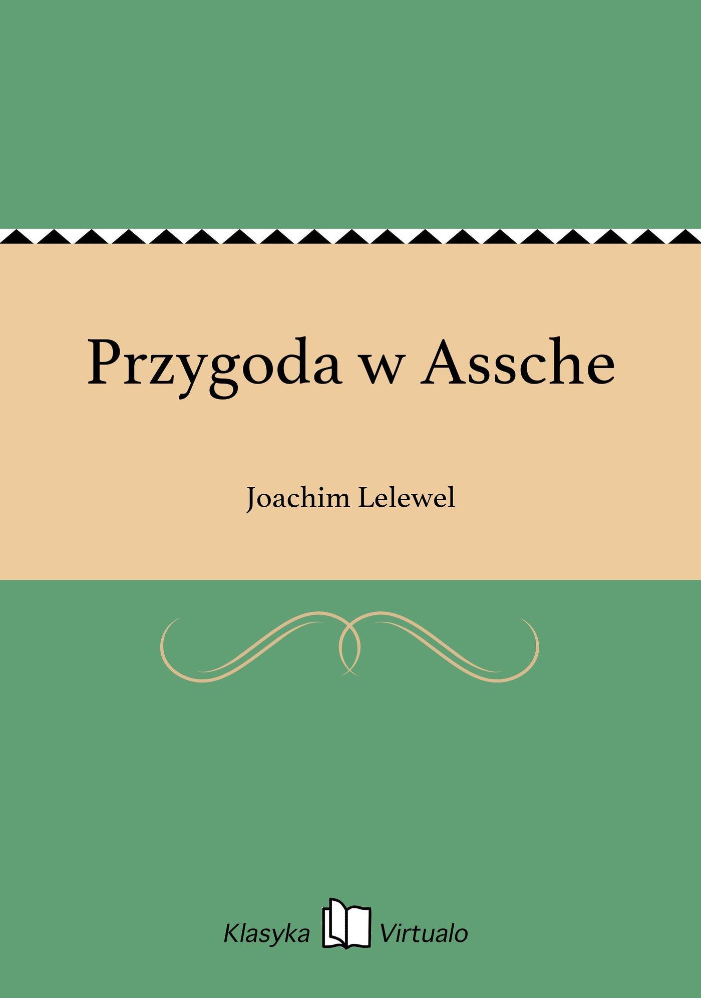 Przygoda w Assche - Ebook (Książka na Kindle) do pobrania w formacie MOBI