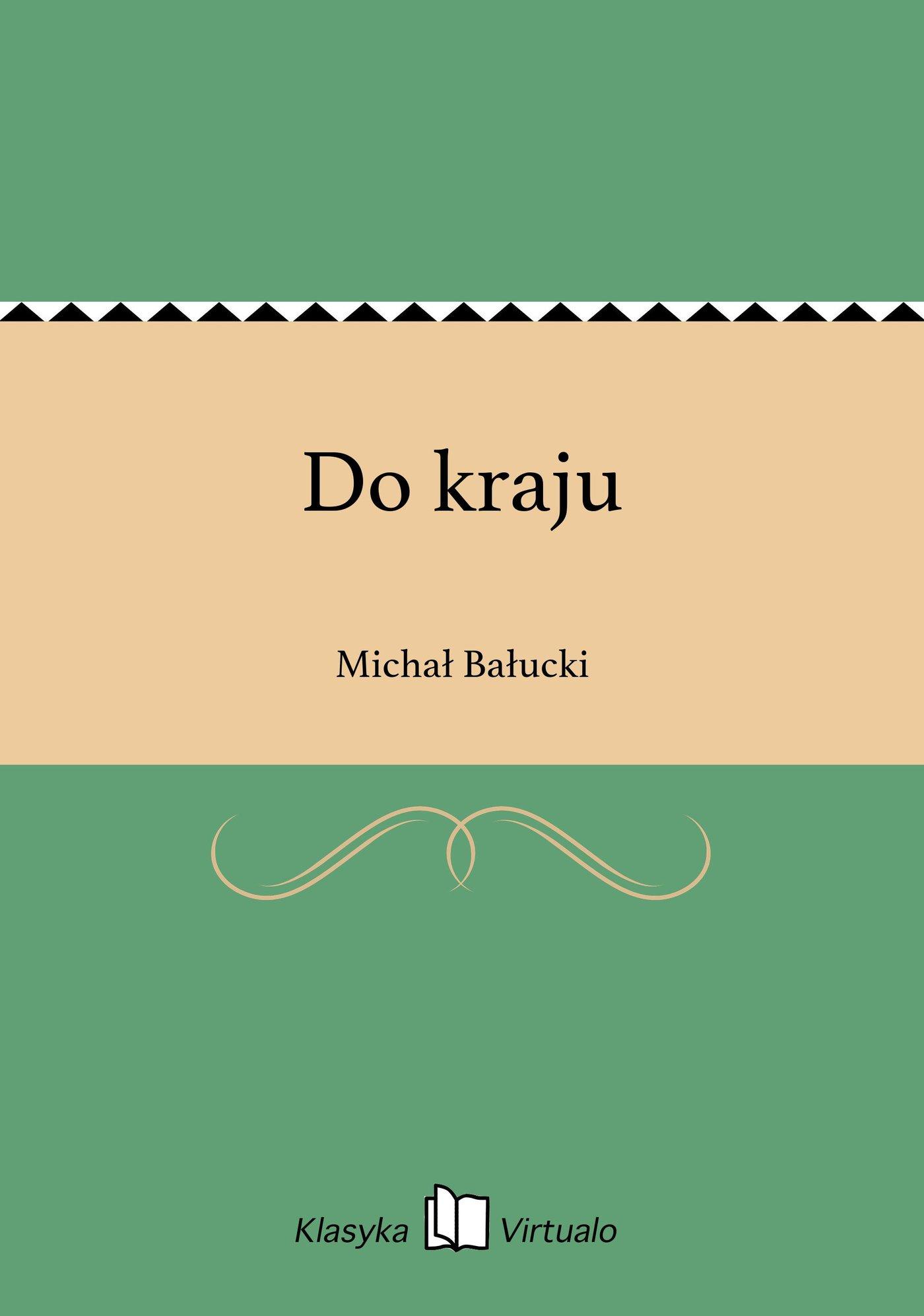 Do kraju - Ebook (Książka na Kindle) do pobrania w formacie MOBI
