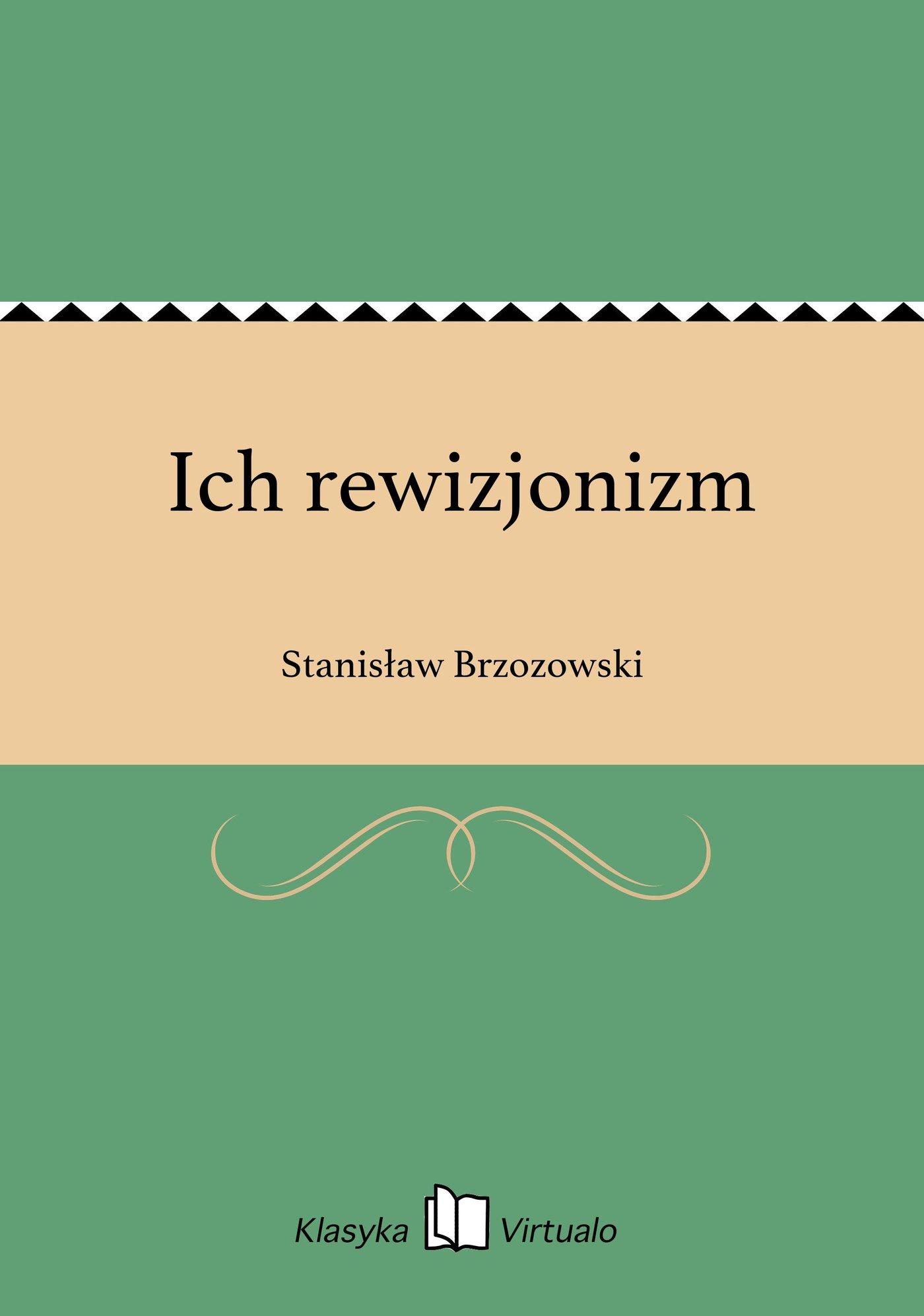 Ich rewizjonizm - Ebook (Książka na Kindle) do pobrania w formacie MOBI