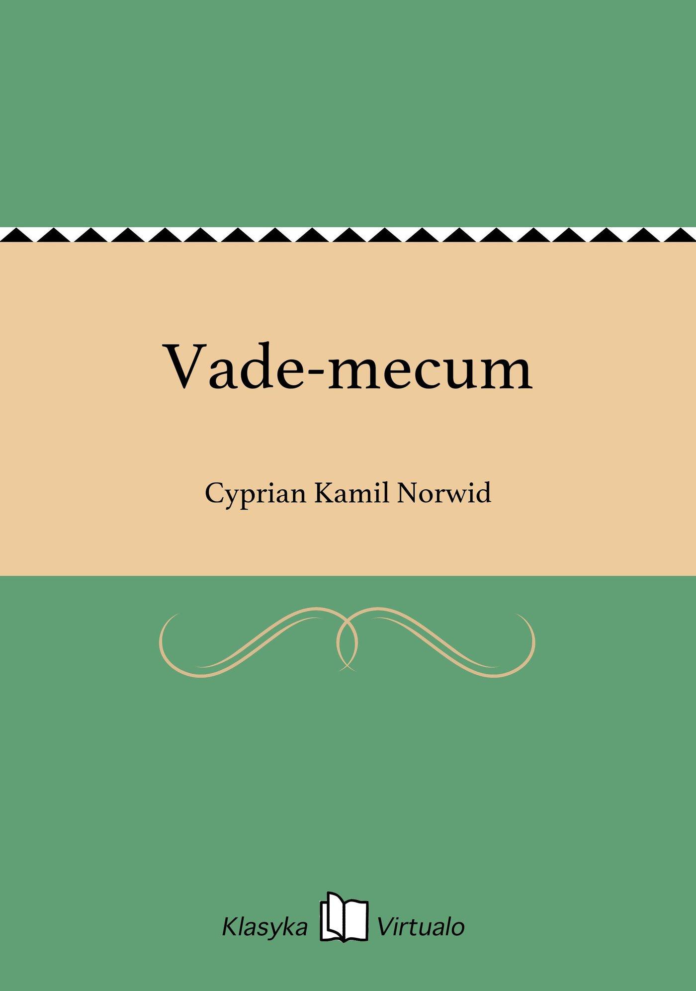 Vade-mecum - Ebook (Książka na Kindle) do pobrania w formacie MOBI