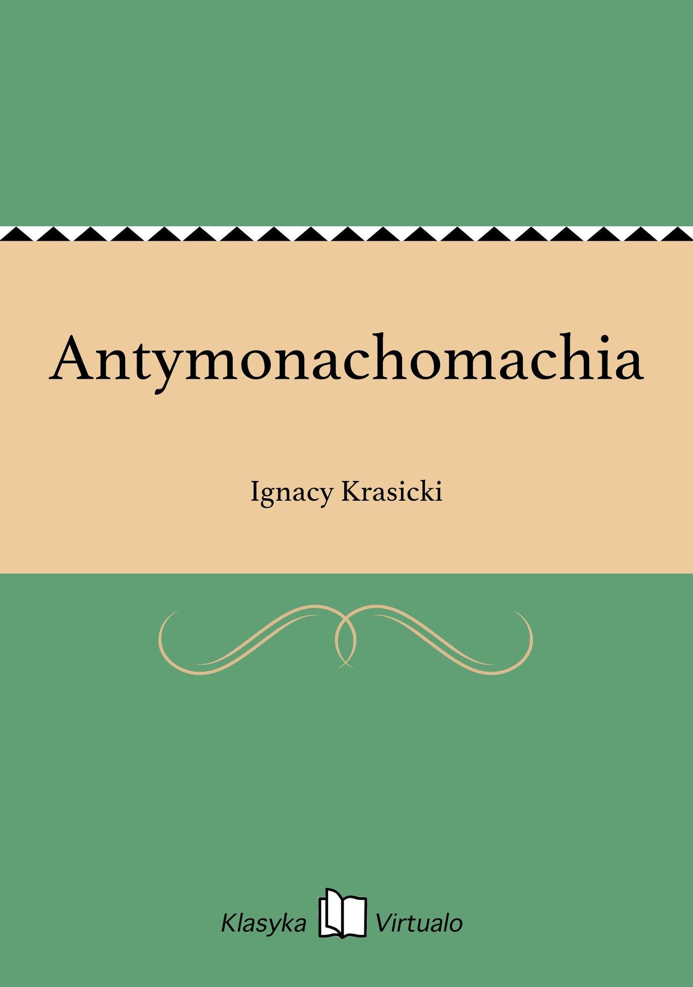 Antymonachomachia - Ebook (Książka na Kindle) do pobrania w formacie MOBI
