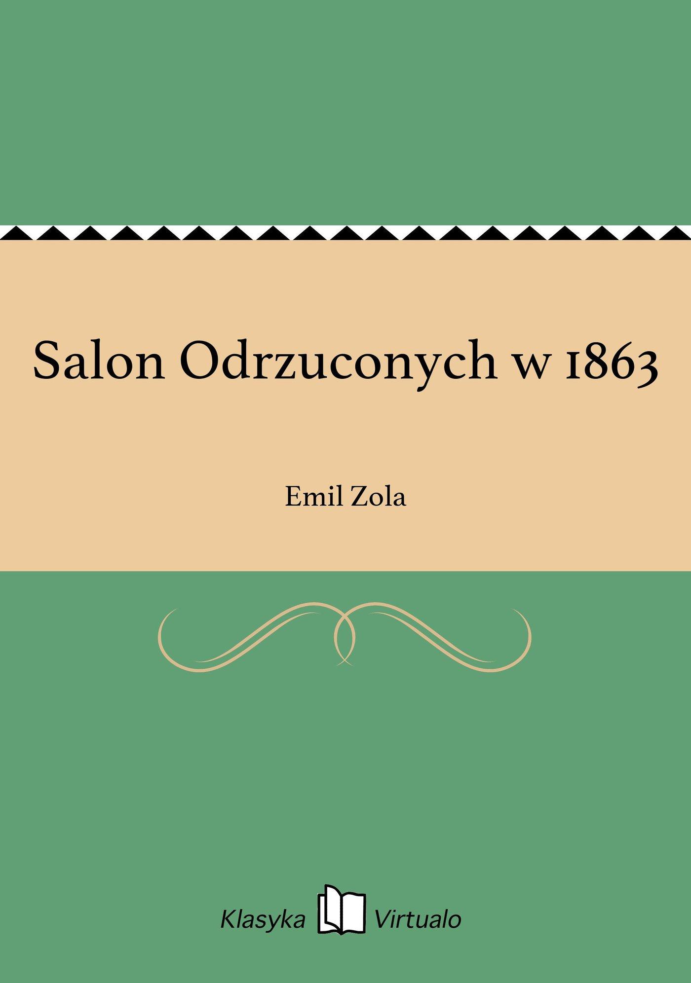 Salon Odrzuconych w 1863 - Ebook (Książka na Kindle) do pobrania w formacie MOBI