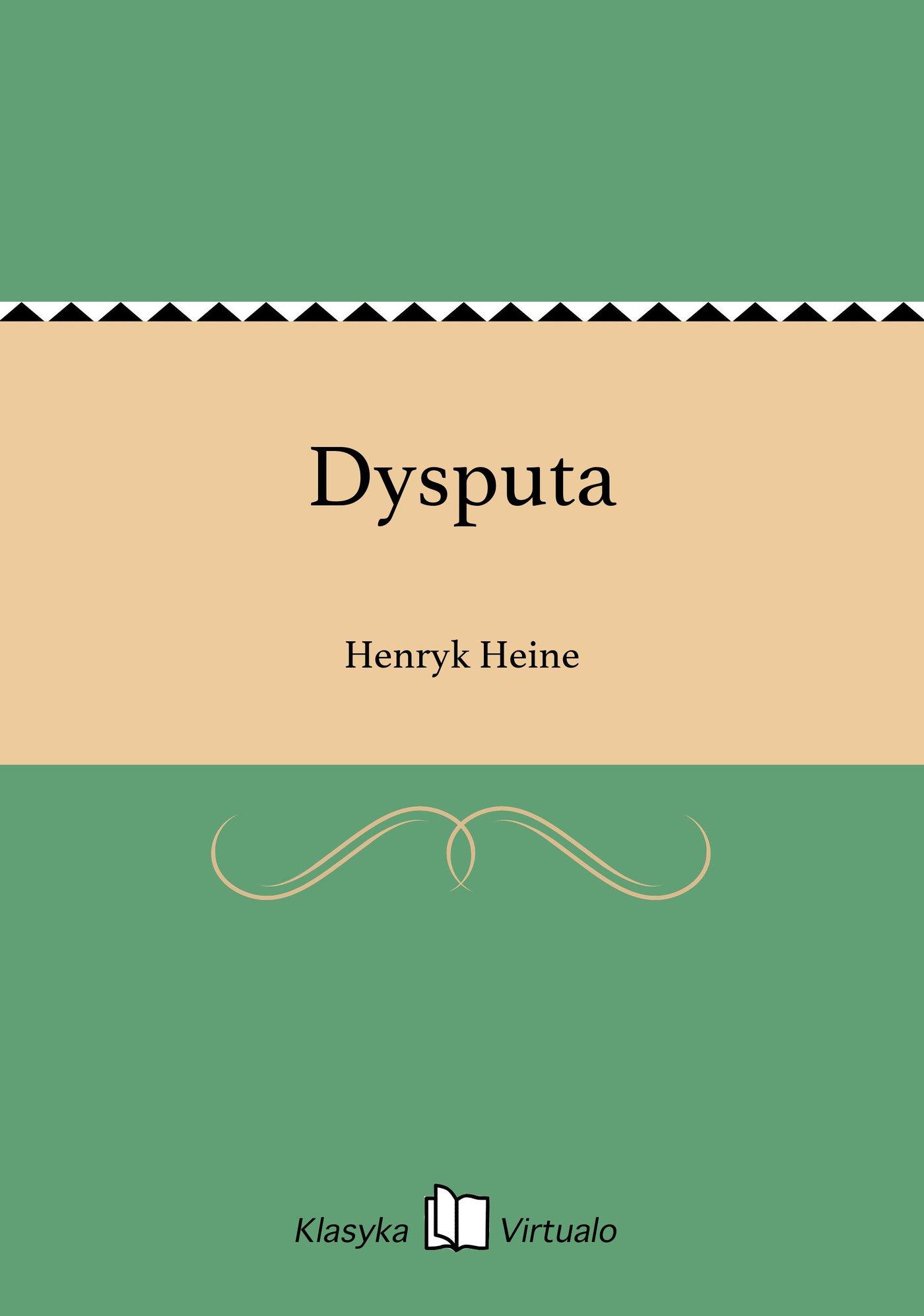 Dysputa - Ebook (Książka na Kindle) do pobrania w formacie MOBI
