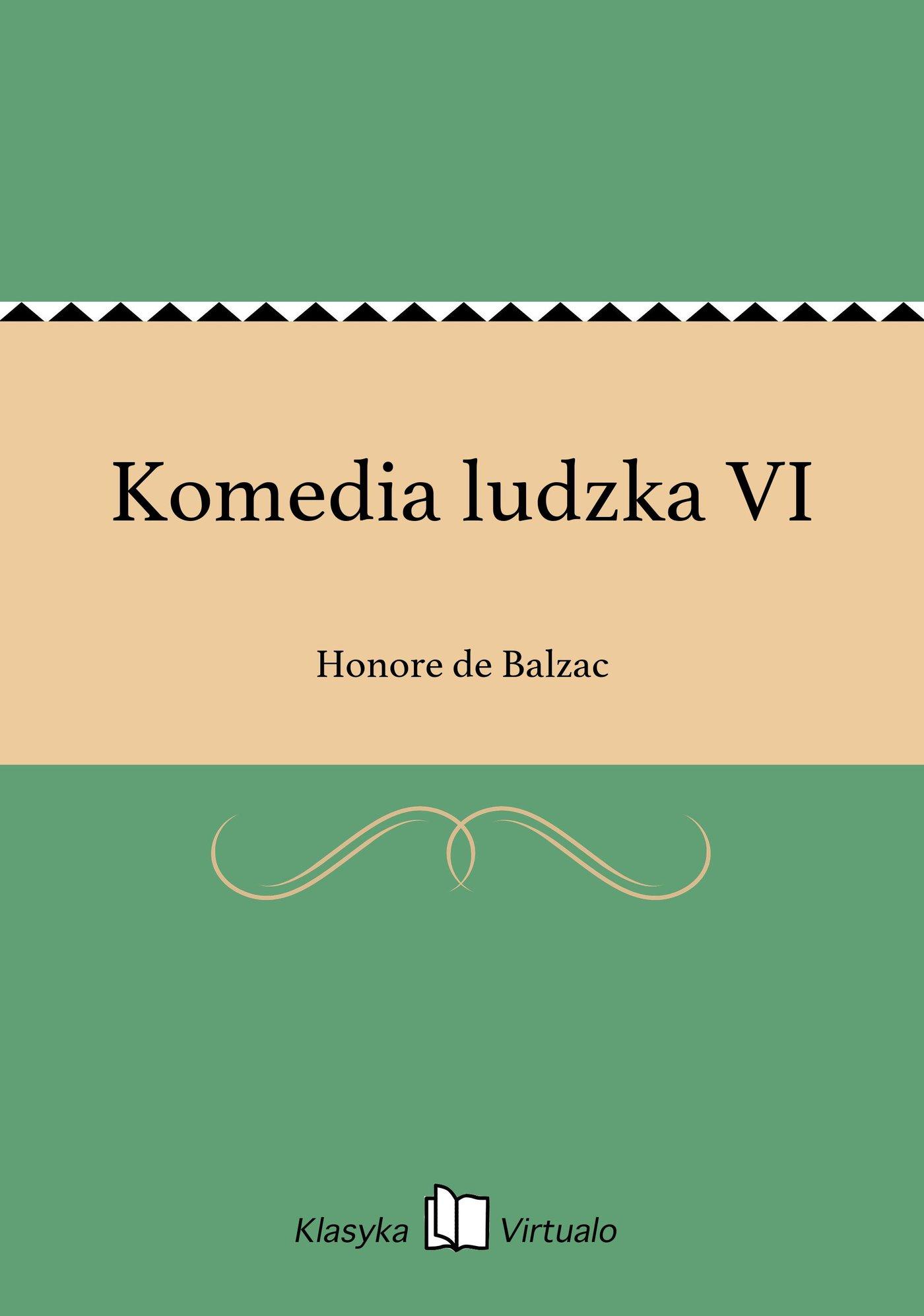 Komedia ludzka VI - Ebook (Książka na Kindle) do pobrania w formacie MOBI