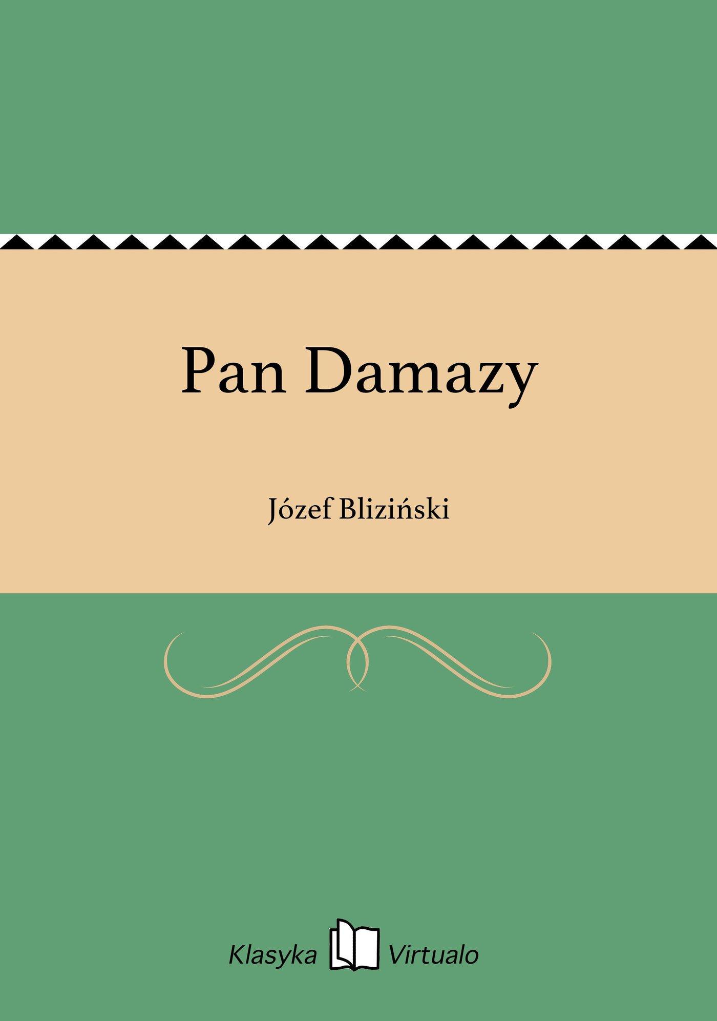 Pan Damazy - Ebook (Książka na Kindle) do pobrania w formacie MOBI