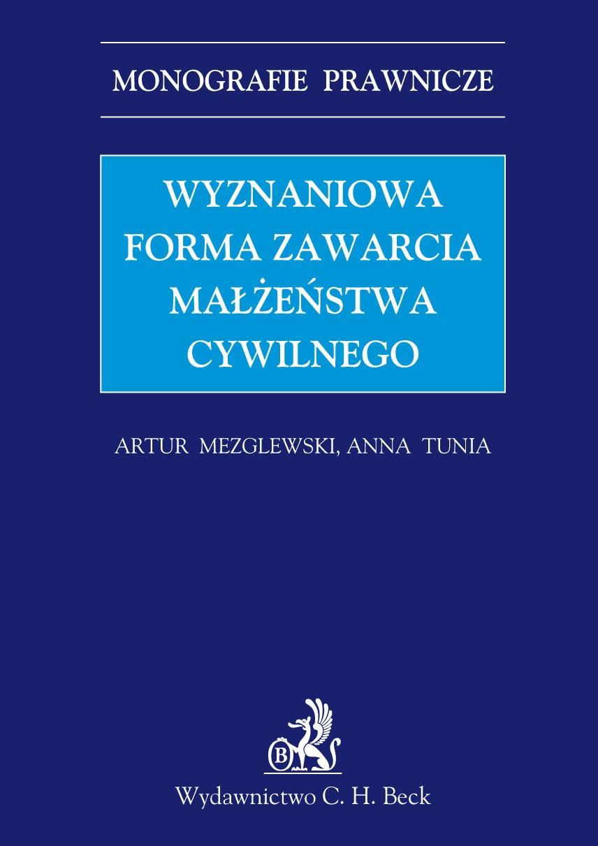 Wyznaniowa forma zawarcia małżeństwa cywilnego - Ebook (Książka PDF) do pobrania w formacie PDF
