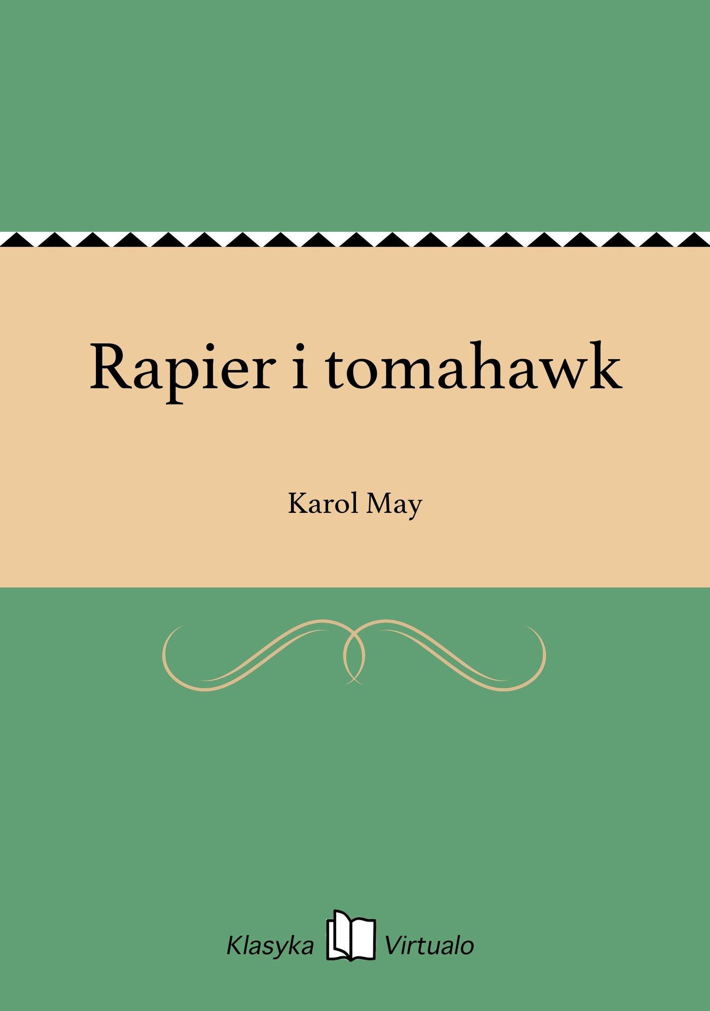 Rapier i tomahawk - Ebook (Książka na Kindle) do pobrania w formacie MOBI