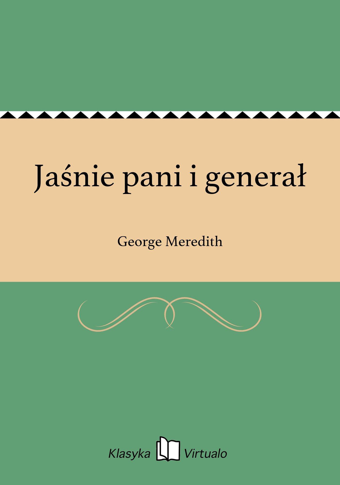 Jaśnie pani i generał - Ebook (Książka na Kindle) do pobrania w formacie MOBI