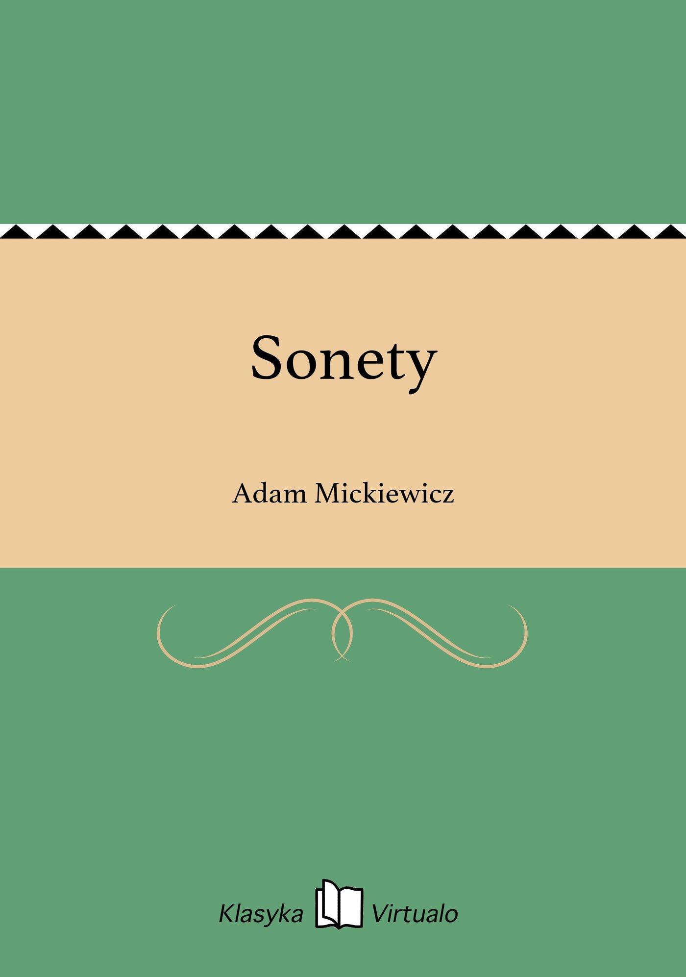 Sonety - Ebook (Książka na Kindle) do pobrania w formacie MOBI
