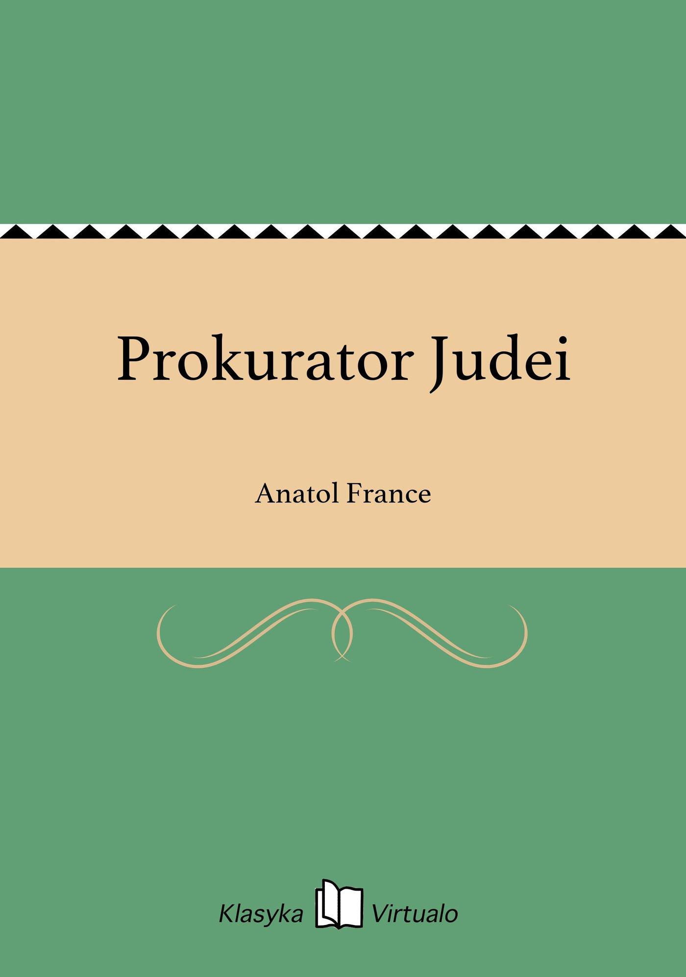 Prokurator Judei - Ebook (Książka na Kindle) do pobrania w formacie MOBI