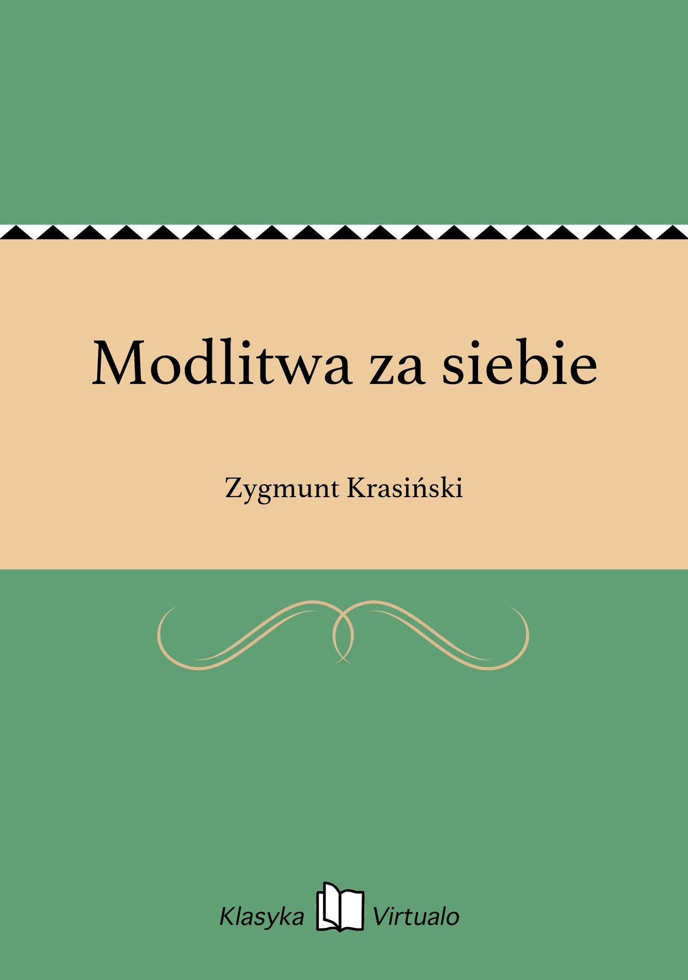 Modlitwa za siebie - Ebook (Książka na Kindle) do pobrania w formacie MOBI