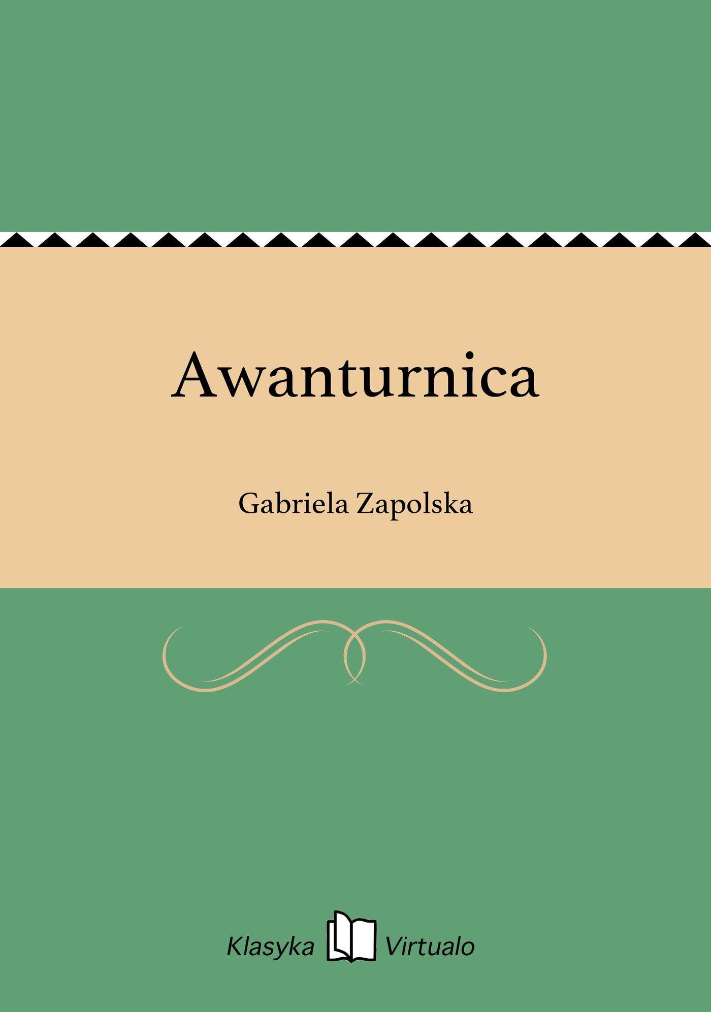 Awanturnica - Ebook (Książka na Kindle) do pobrania w formacie MOBI