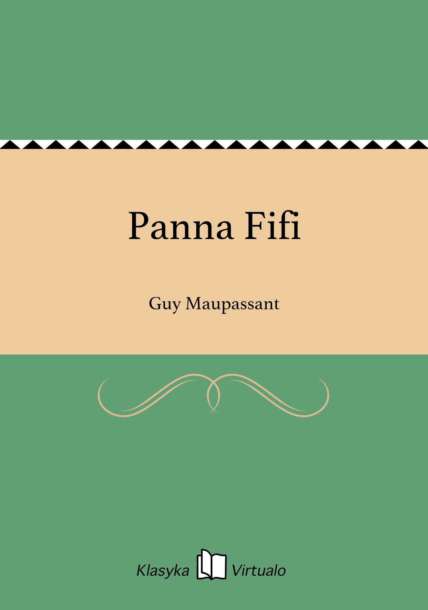 Panna Fifi - Ebook (Książka na Kindle) do pobrania w formacie MOBI