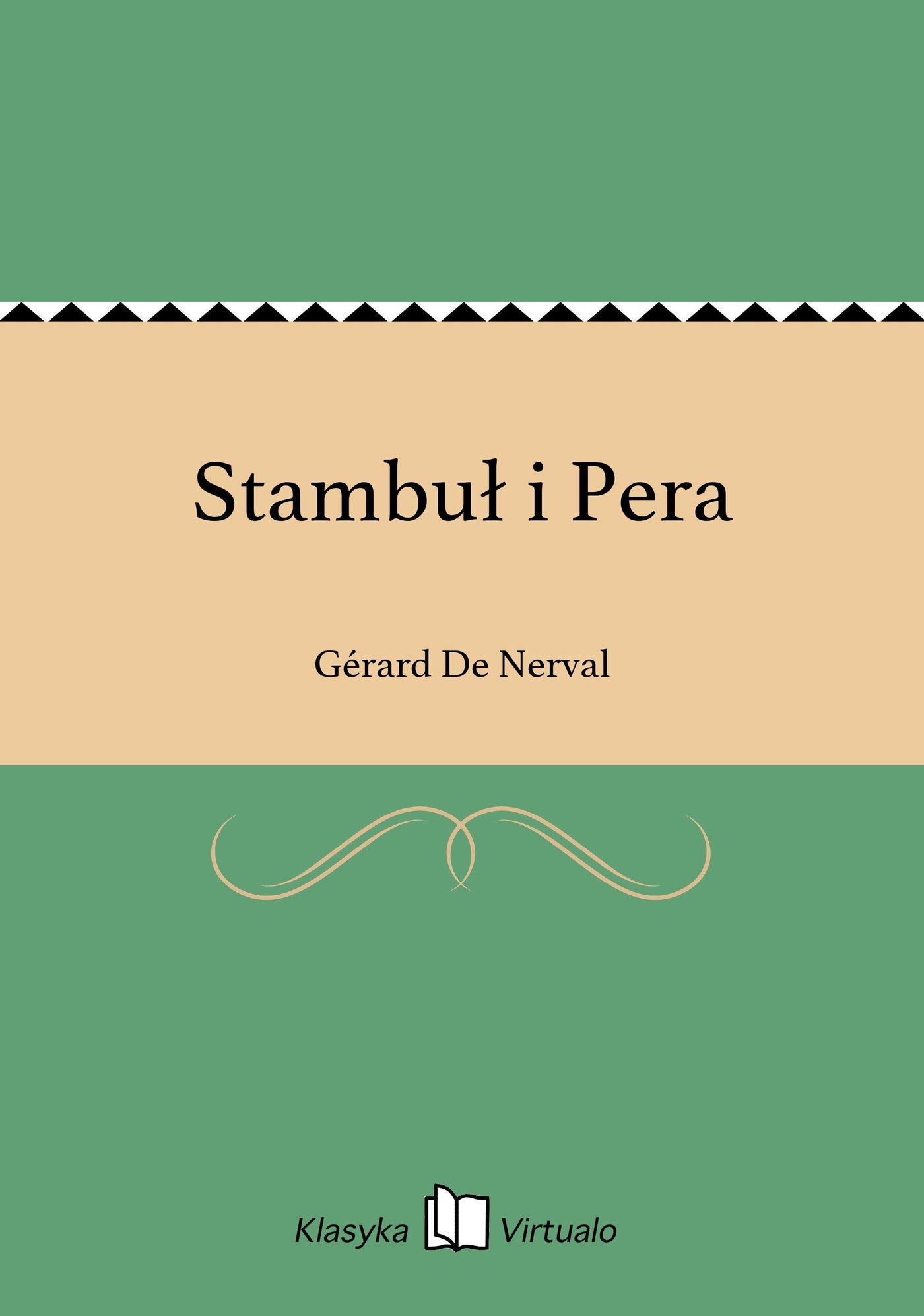 Stambuł i Pera - Ebook (Książka na Kindle) do pobrania w formacie MOBI