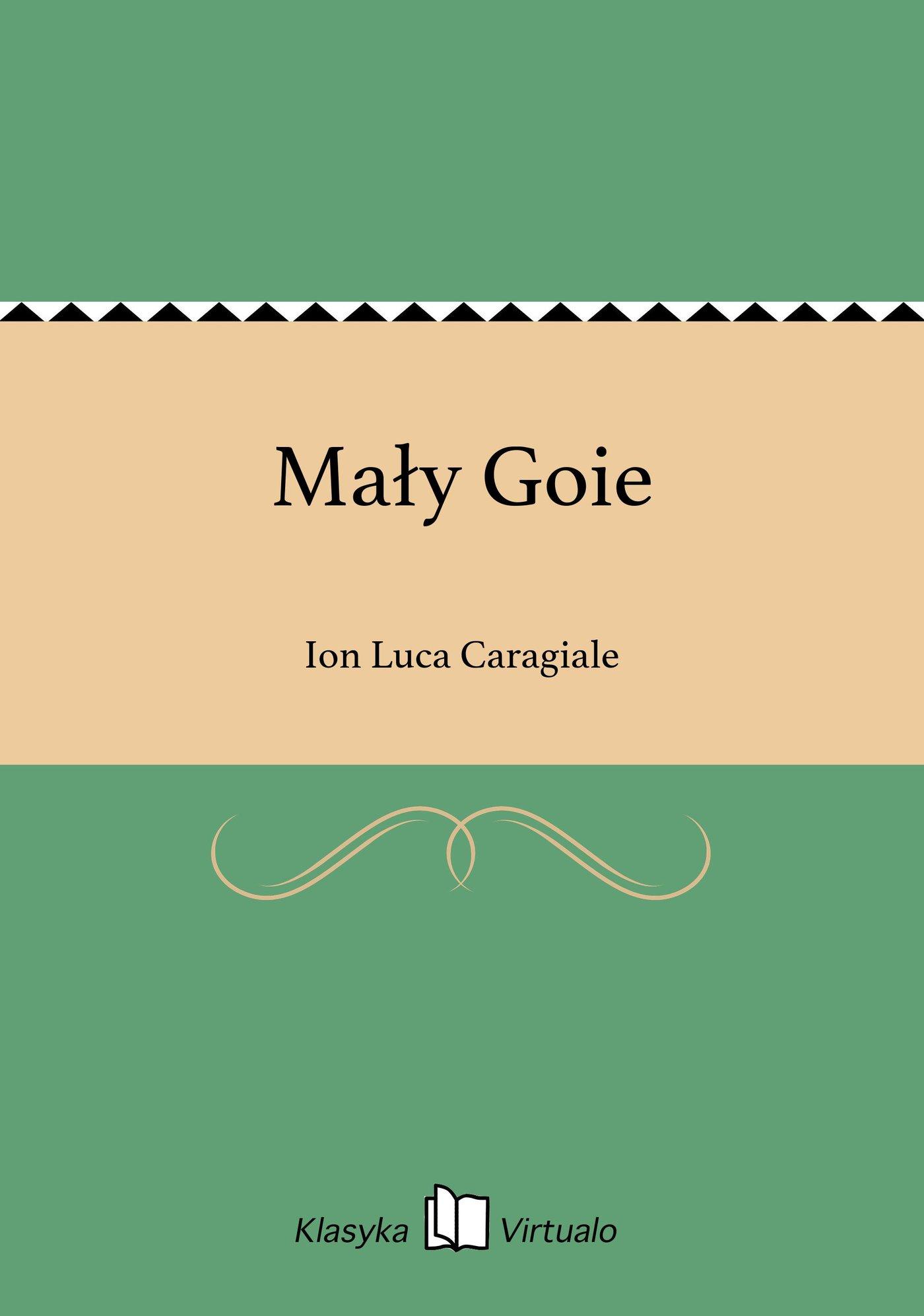 Mały Goie - Ebook (Książka na Kindle) do pobrania w formacie MOBI
