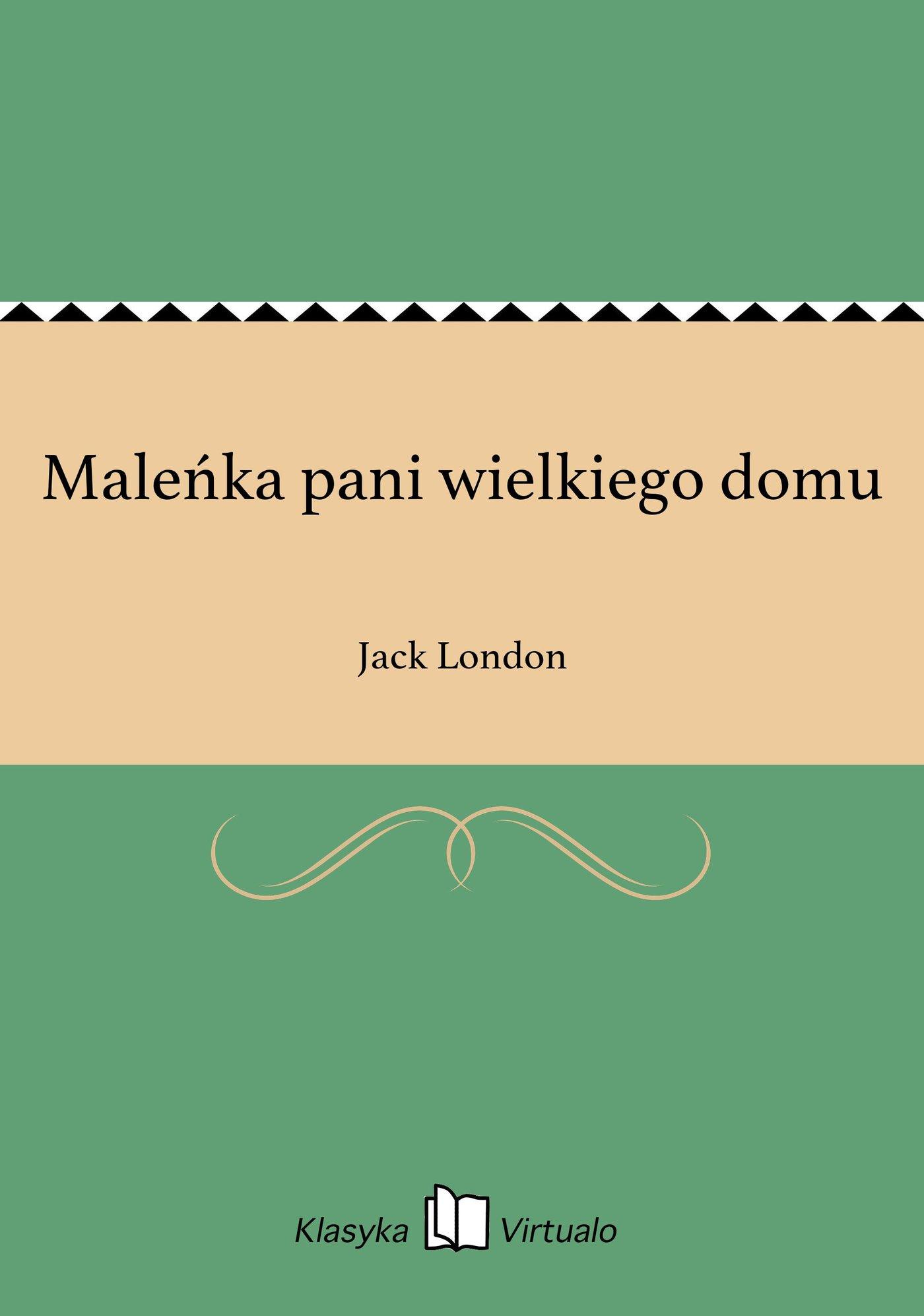Maleńka pani wielkiego domu - Ebook (Książka na Kindle) do pobrania w formacie MOBI