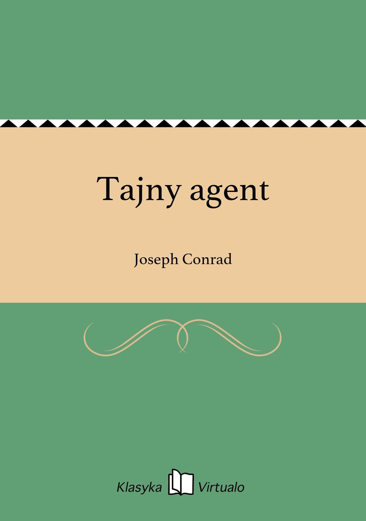 Tajny agent - Ebook (Książka na Kindle) do pobrania w formacie MOBI