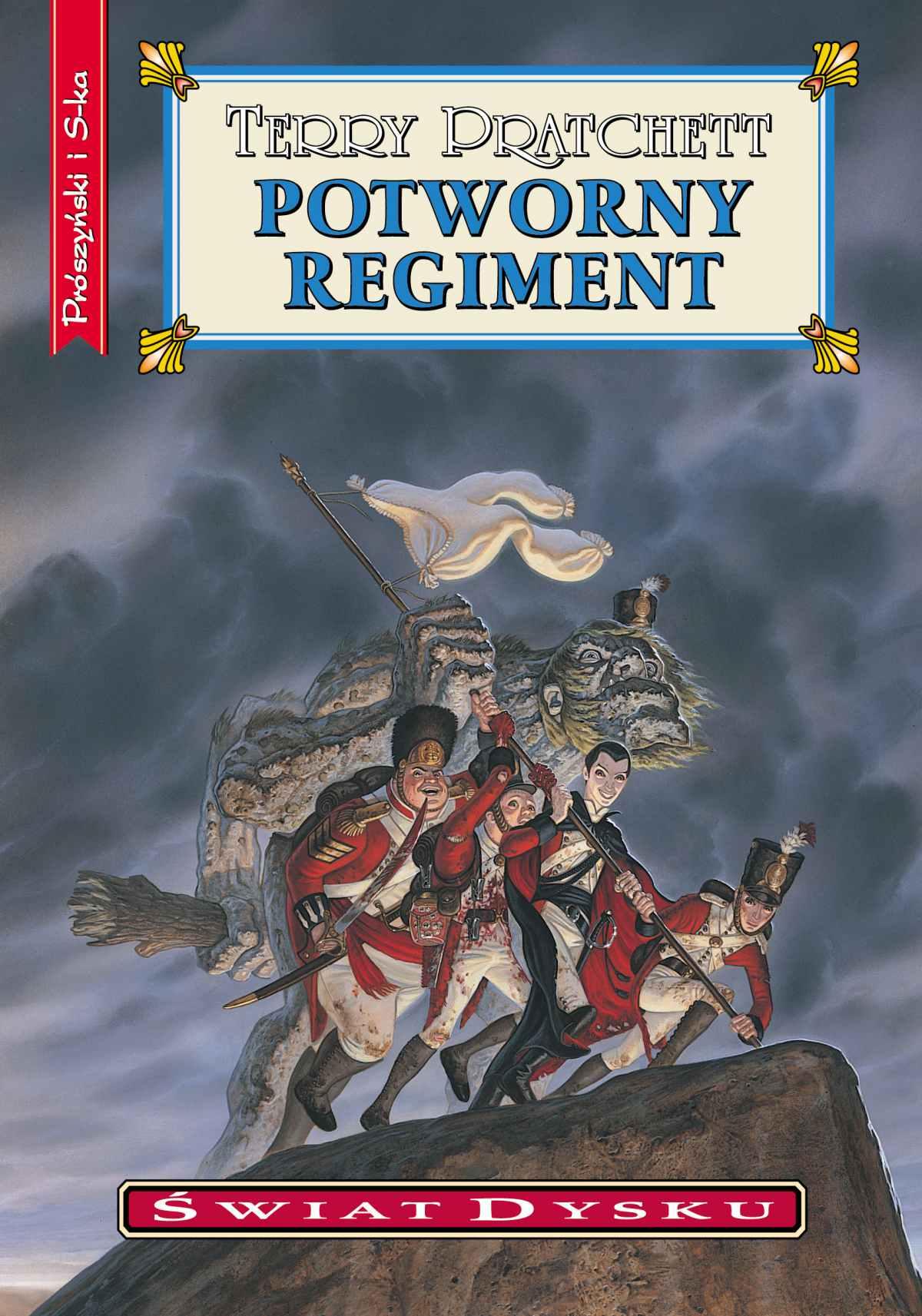 Potworny regiment - Ebook (Książka EPUB) do pobrania w formacie EPUB