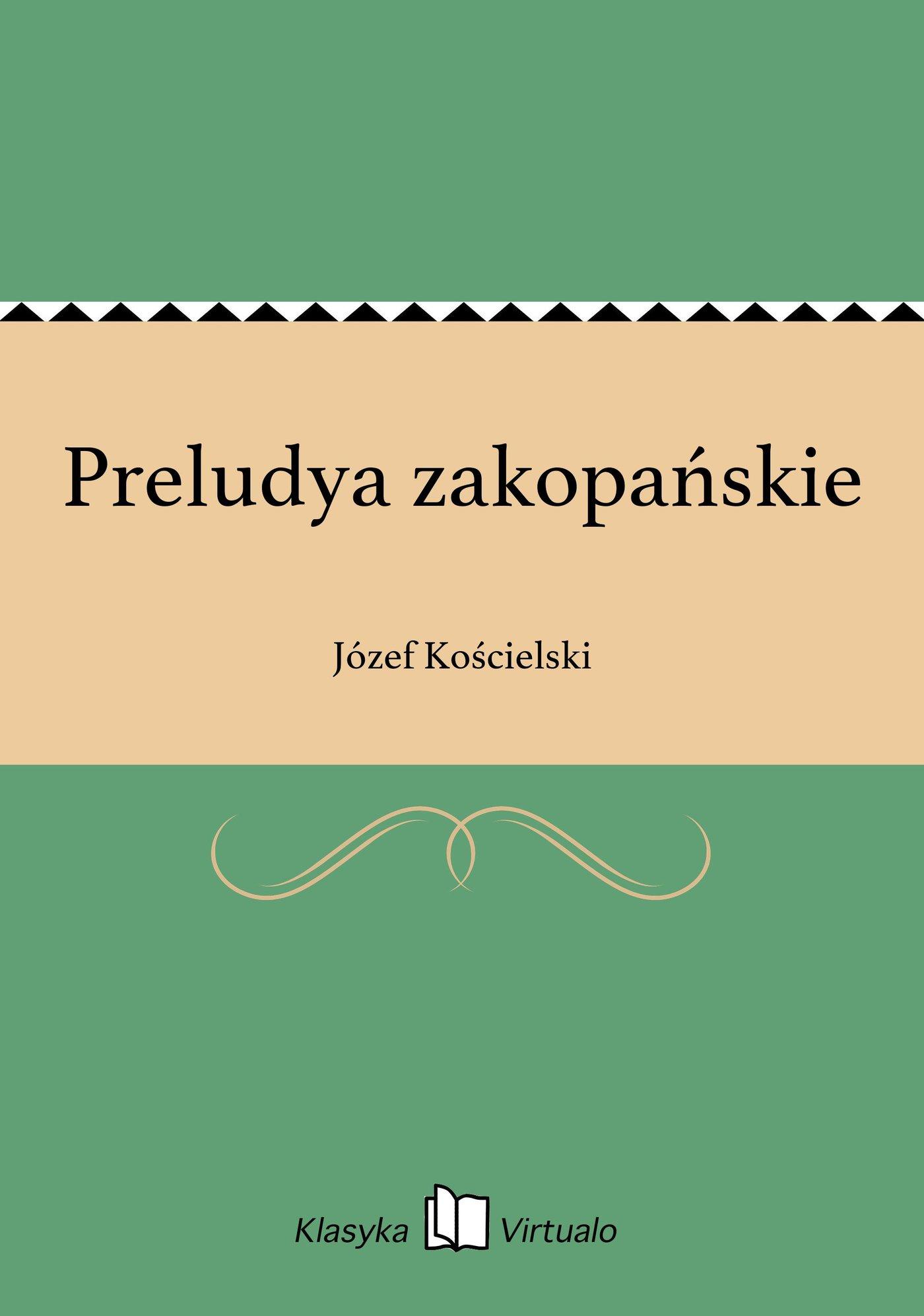 Preludya zakopańskie - Ebook (Książka na Kindle) do pobrania w formacie MOBI