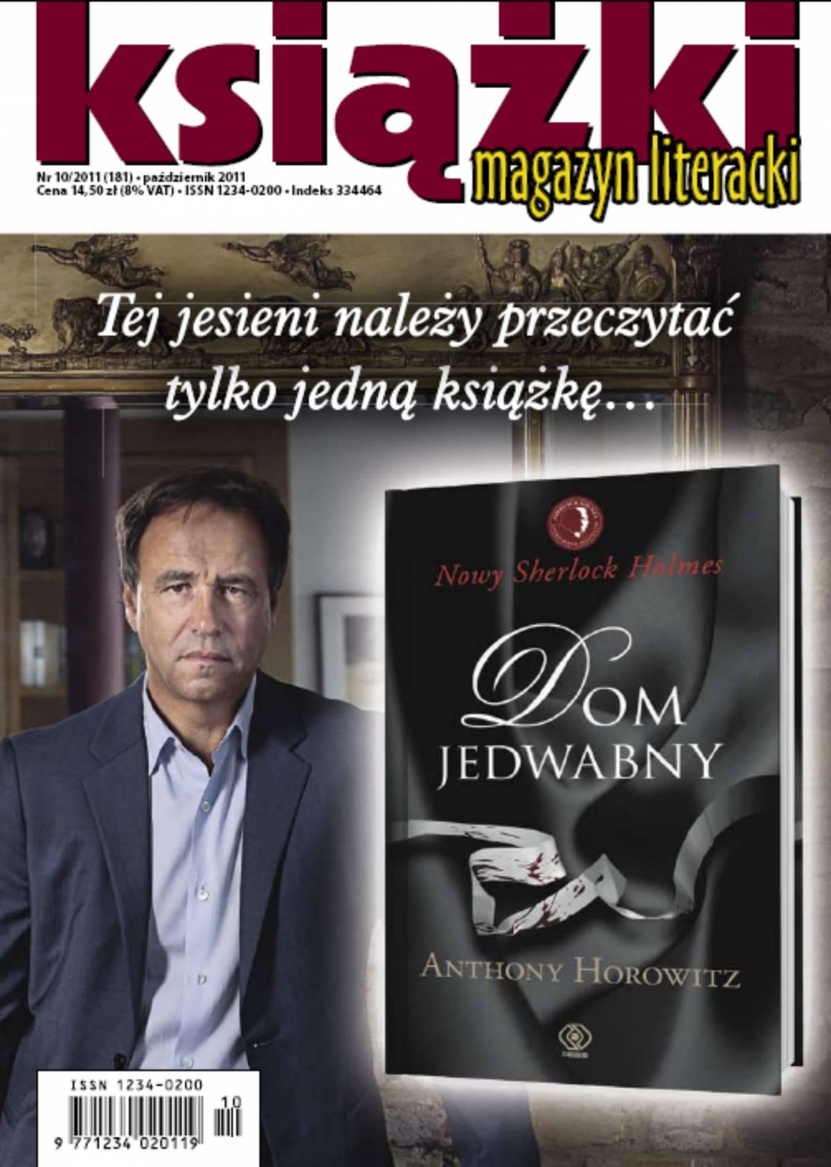 Magazyn Literacki KSIĄŻKI - nr 10/2011 (181) - Ebook (Książka PDF) do pobrania w formacie PDF