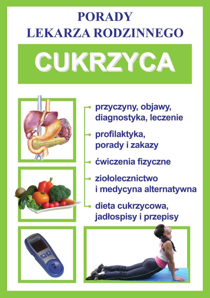 Cukrzyca. Porady lekarza rodzinnego - Ebook (Książka PDF) do pobrania w formacie PDF