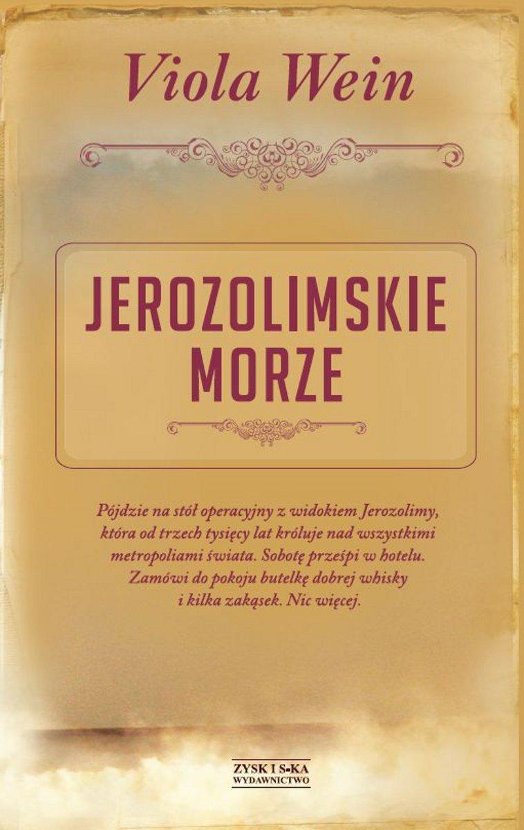 Jerozolimskie morze - Ebook (Książka EPUB) do pobrania w formacie EPUB