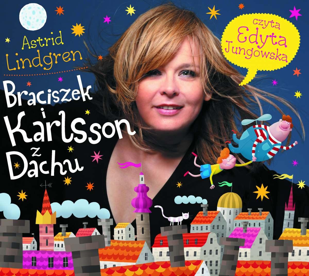 Braciszek i Karlsson z Dachu - Audiobook (Książka audio MP3) do pobrania w całości w archiwum ZIP