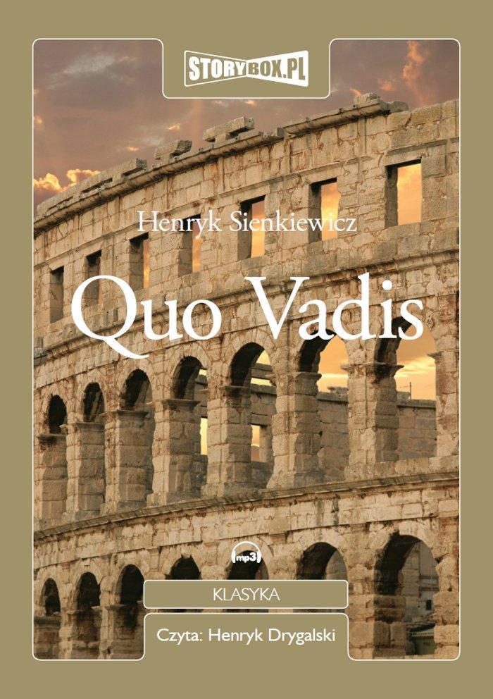 Quo Vadis - Audiobook (Książka audio MP3) do pobrania w całości w archiwum ZIP