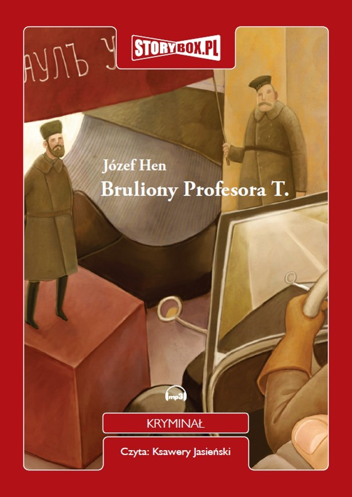 Bruliony Profesora T. - Audiobook (Książka audio MP3) do pobrania w całości w archiwum ZIP