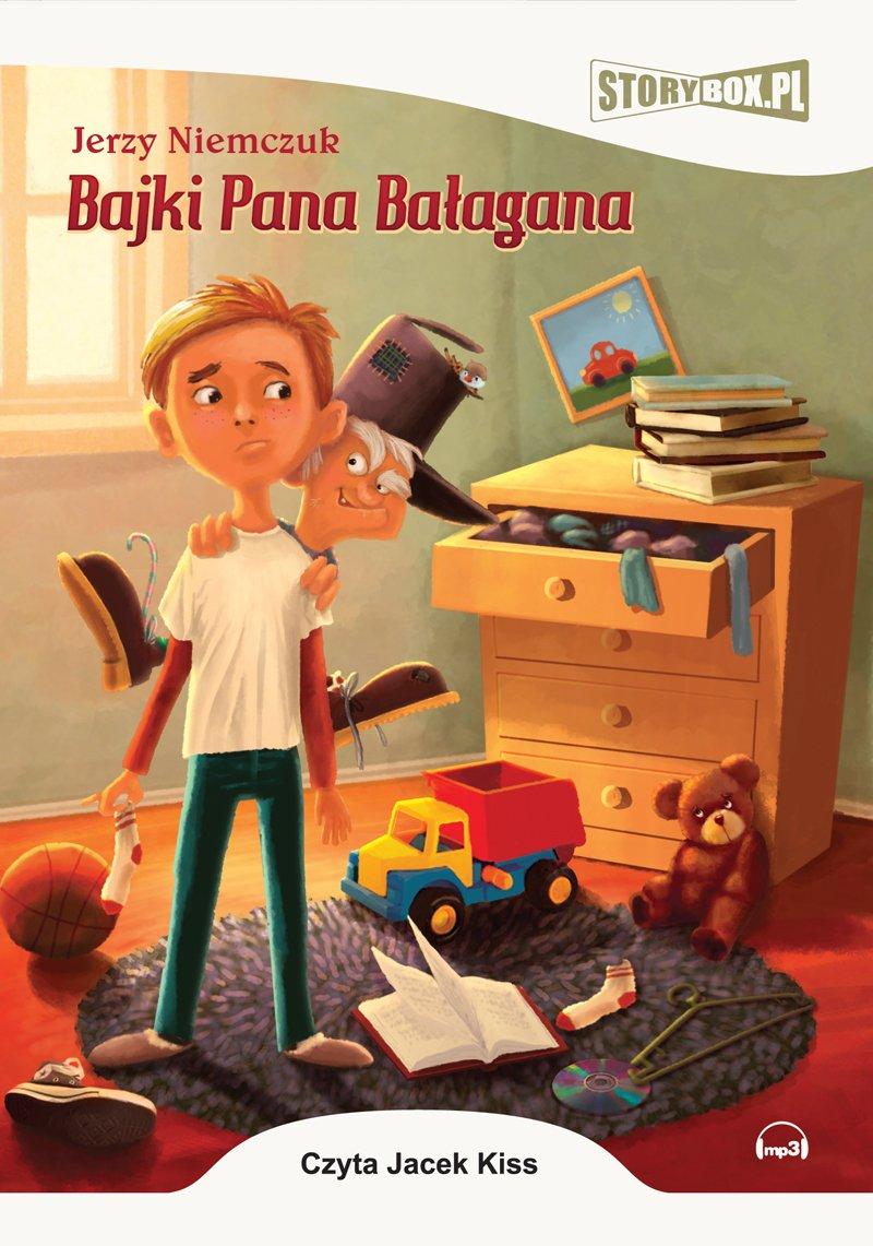 Bajki Pana Bałagana - Audiobook (Książka audio MP3) do pobrania w całości w archiwum ZIP