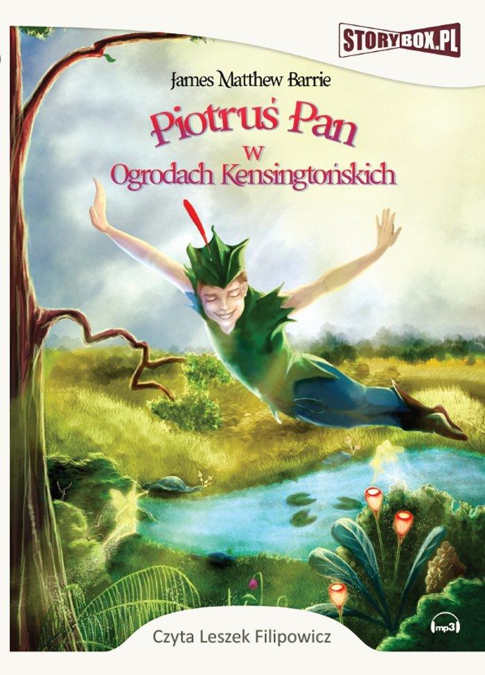 Piotruś Pan w Ogrodach Kensigtońskich - Audiobook (Książka audio MP3) do pobrania w całości w archiwum ZIP