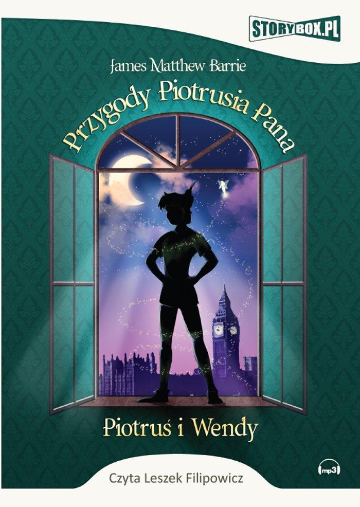 Przygody Piotrusia Pana. Piotruś i Wendy - Audiobook (Książka audio MP3) do pobrania w całości w archiwum ZIP