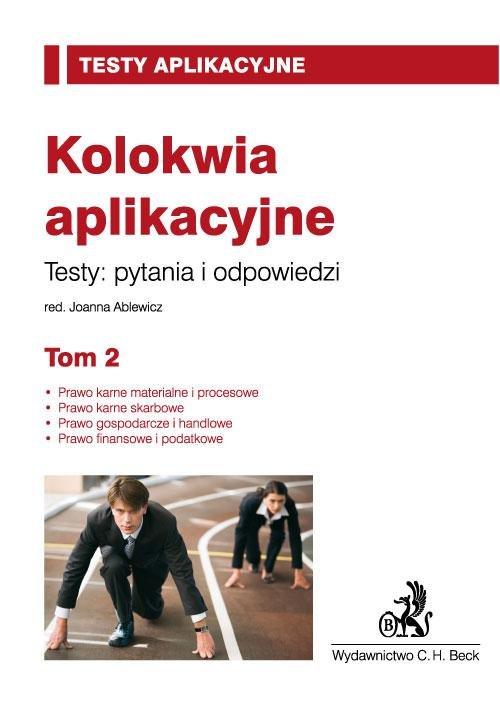 Kolokwia aplikacyjne. Tom 2 - Ebook (Książka PDF) do pobrania w formacie PDF