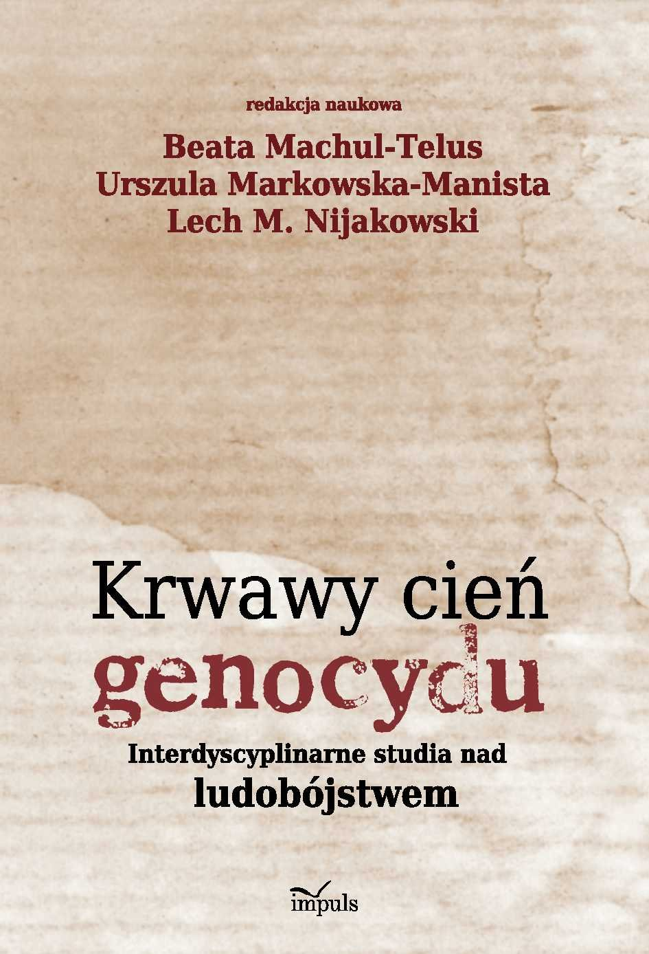 Krwawy cień genocydu - Ebook (Książka PDF) do pobrania w formacie PDF