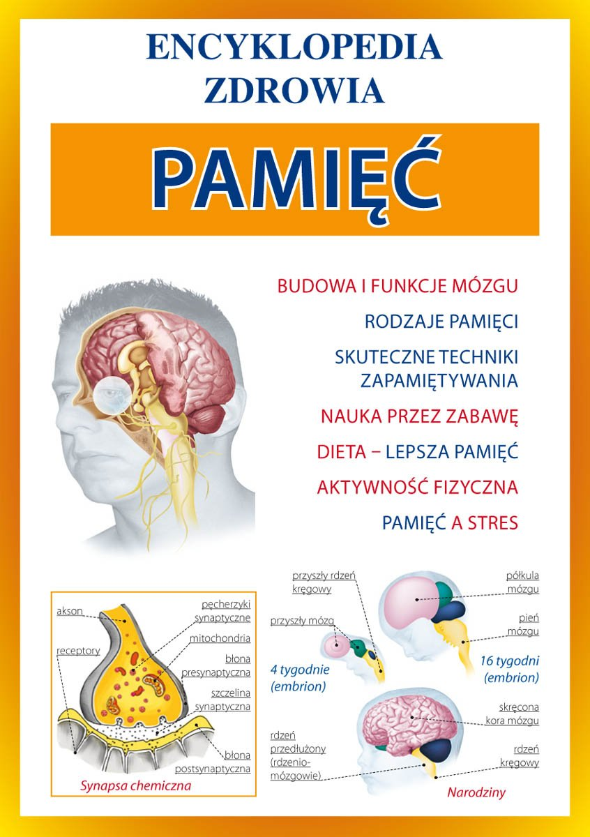 Pamięć. Encyklopedia zdrowia - Ebook (Książka PDF) do pobrania w formacie PDF