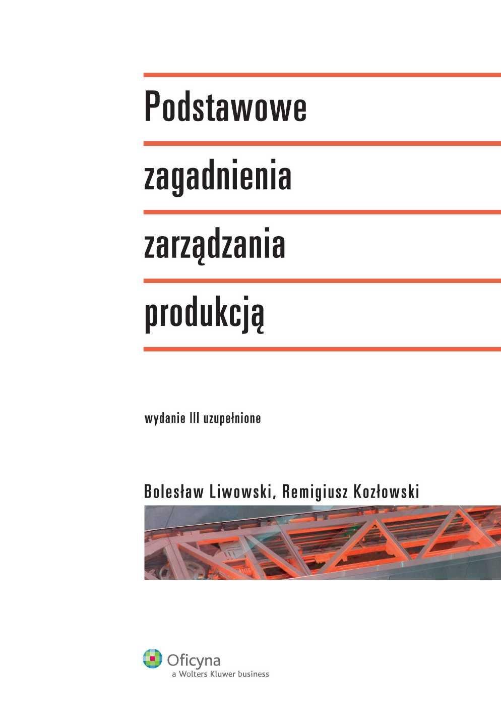 Podstawowe zagadnienia zarządzania produkcją - Ebook (Książka PDF) do pobrania w formacie PDF