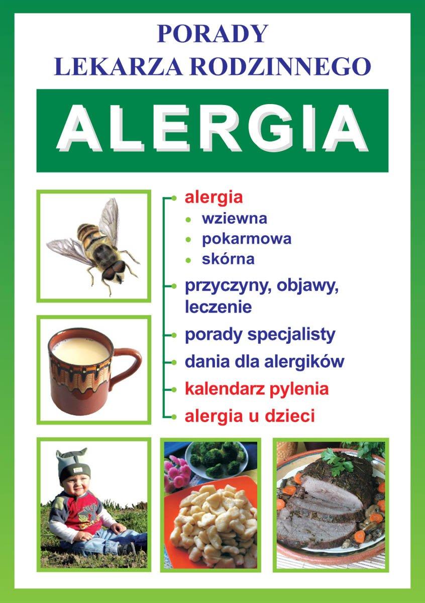 Alergia. Porady lekarza rodzinnego - Ebook (Książka PDF) do pobrania w formacie PDF