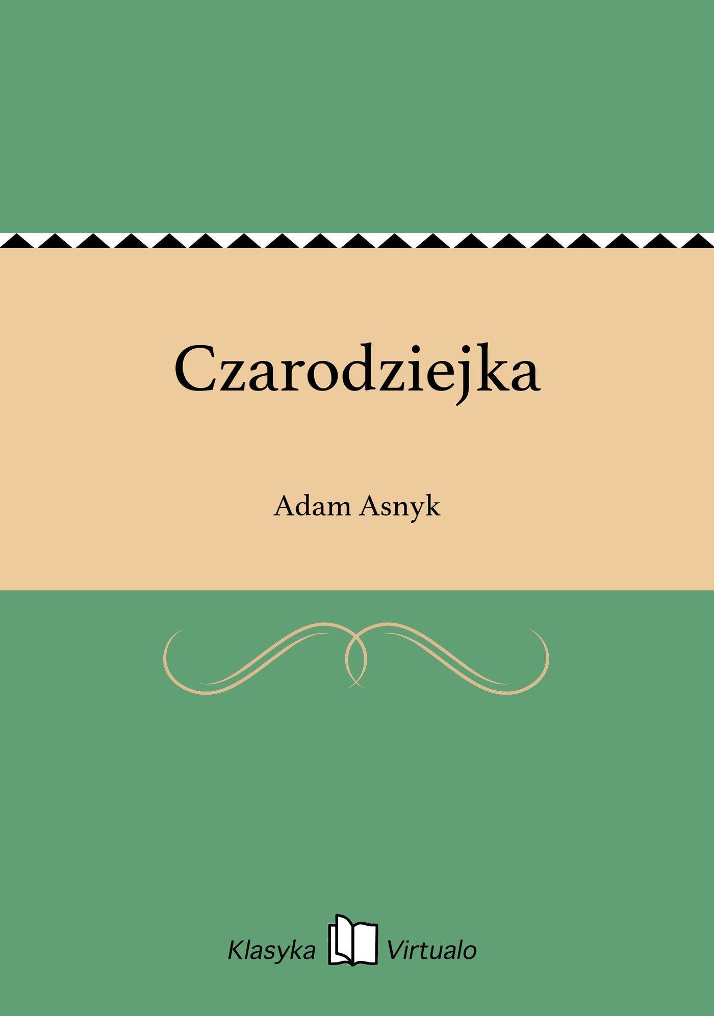 Czarodziejka - Ebook (Książka EPUB) do pobrania w formacie EPUB
