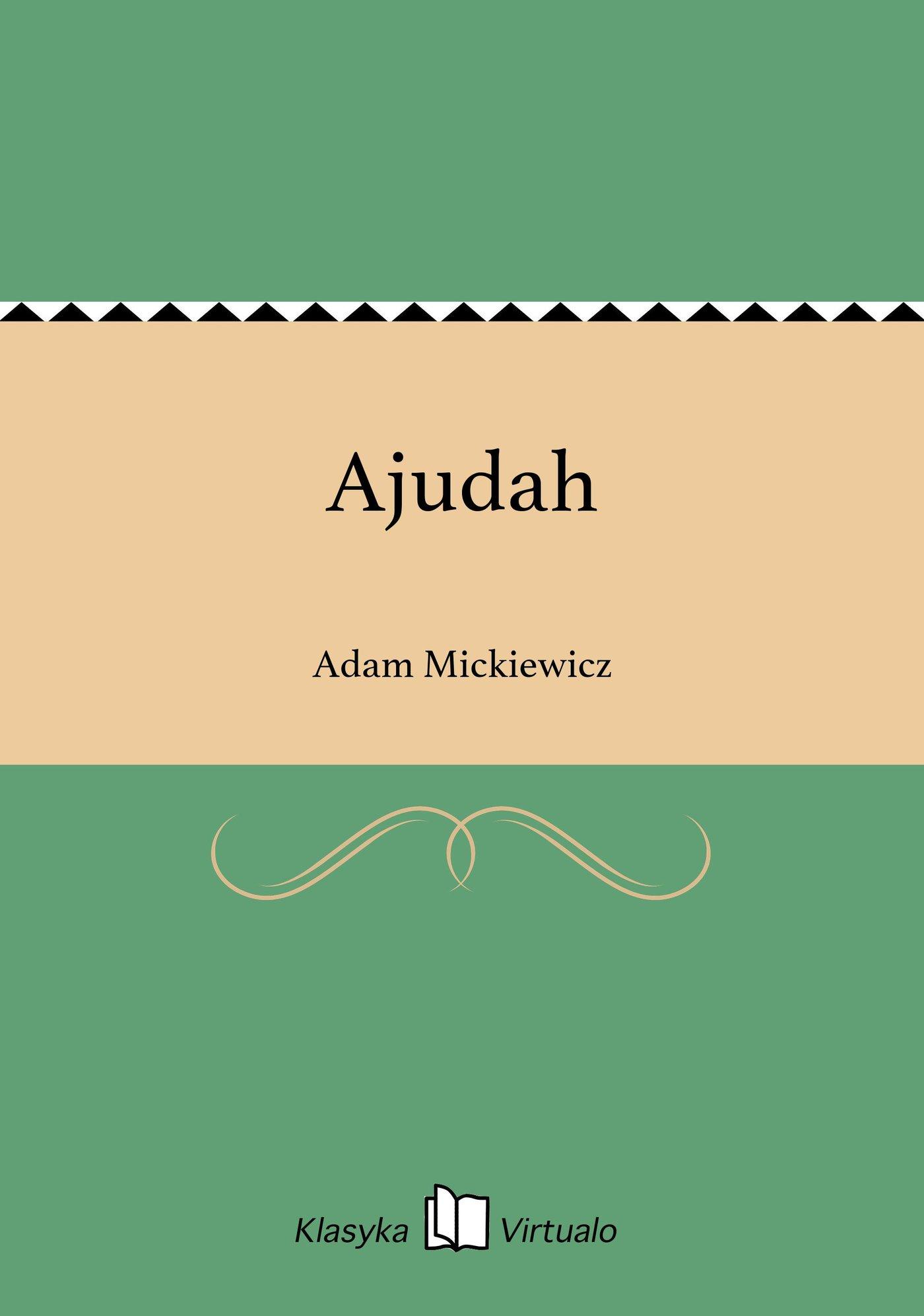 Ajudah - Ebook (Książka EPUB) do pobrania w formacie EPUB