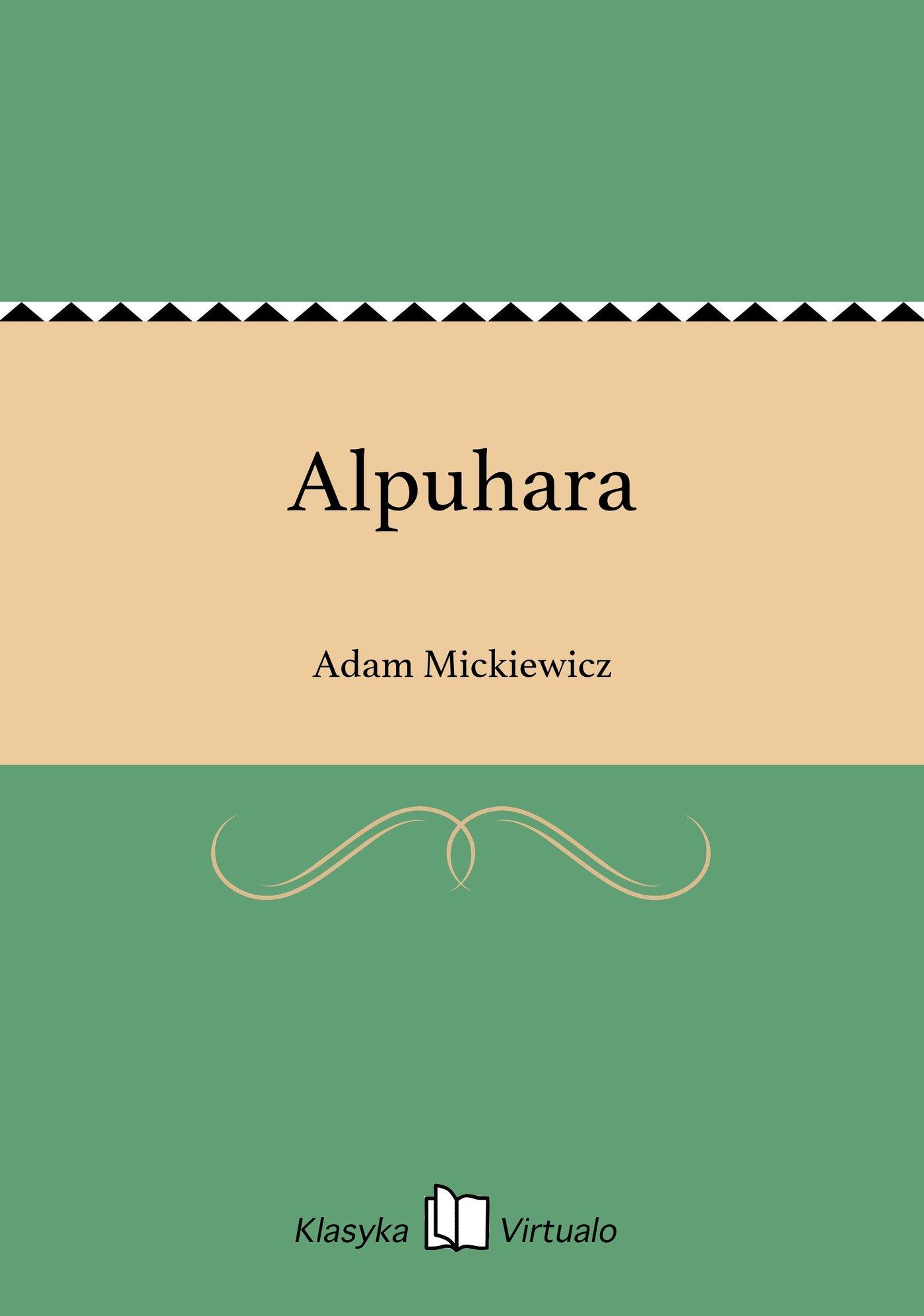 Alpuhara - Ebook (Książka EPUB) do pobrania w formacie EPUB