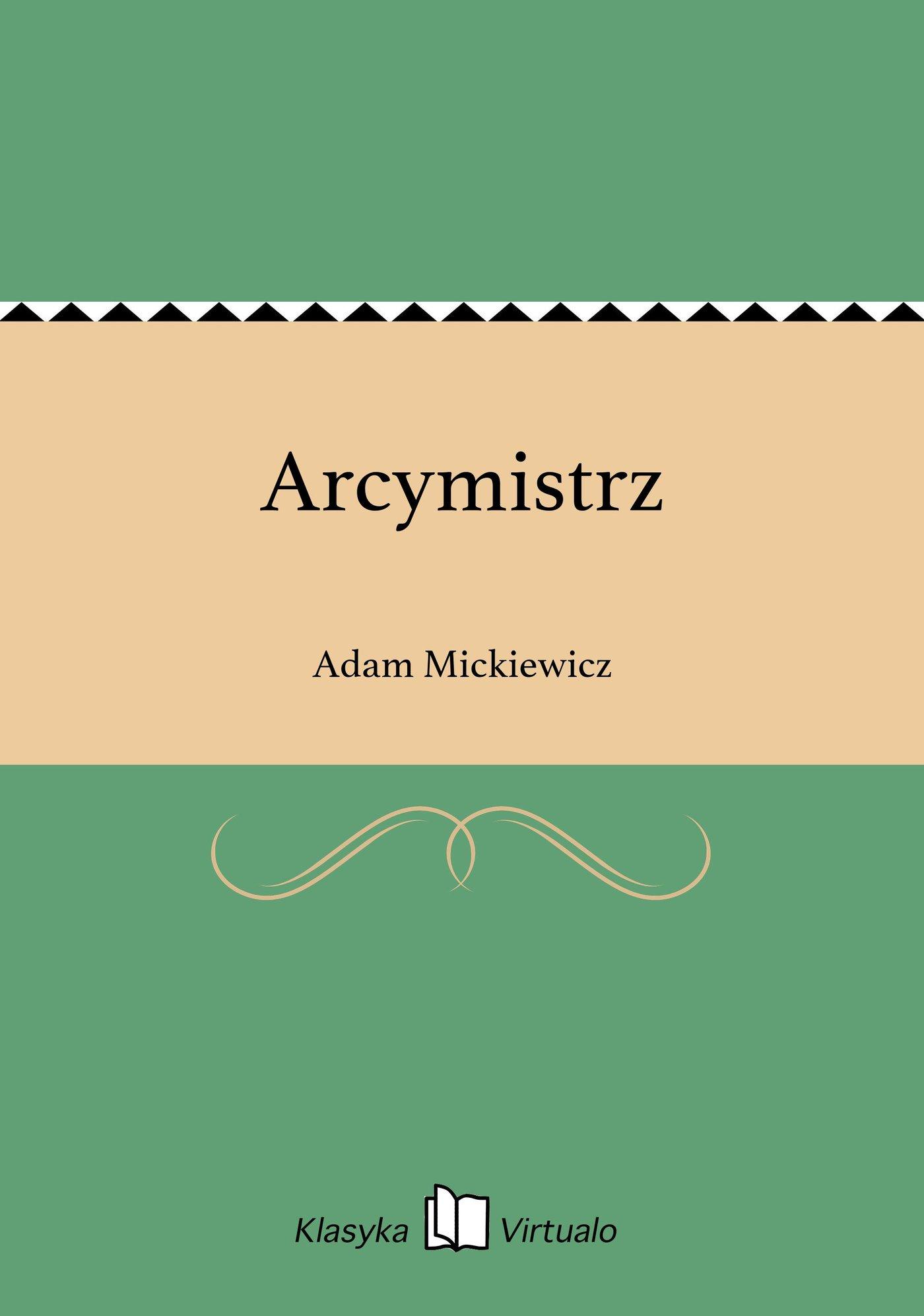 Arcymistrz - Ebook (Książka EPUB) do pobrania w formacie EPUB
